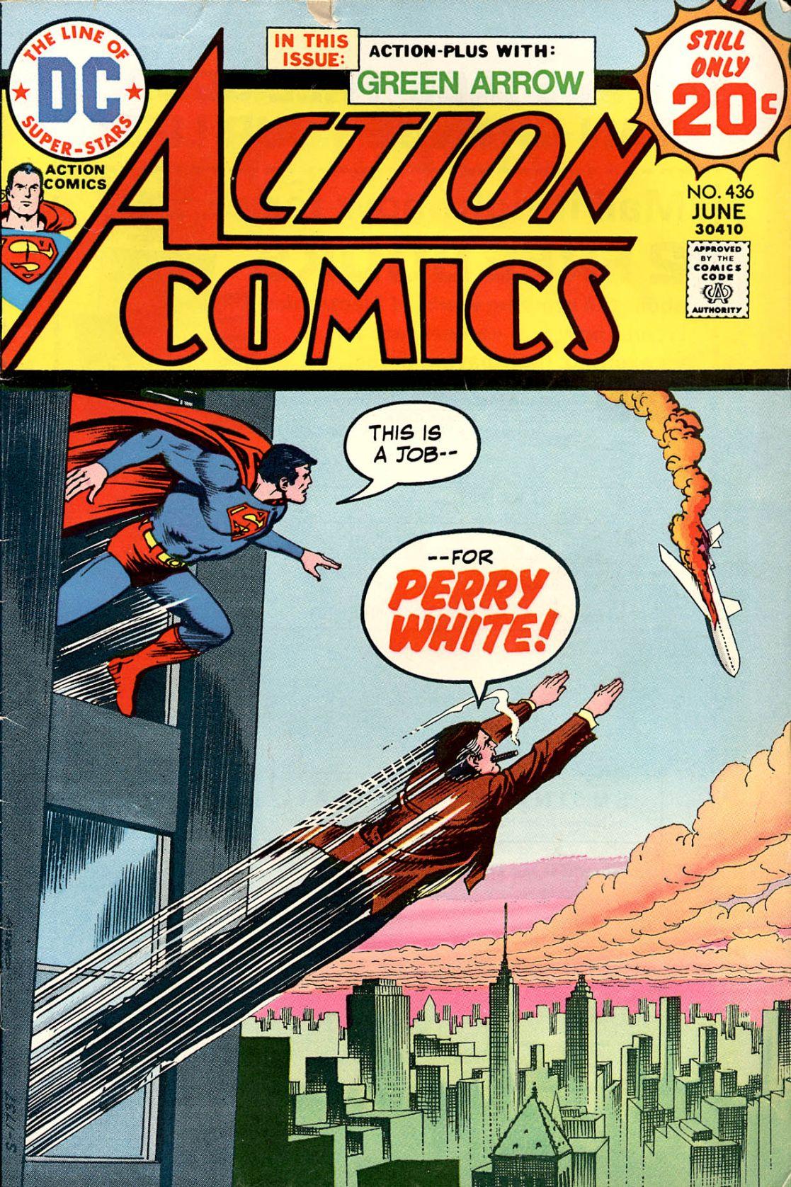 Action Comics (1938) 436 Page 1