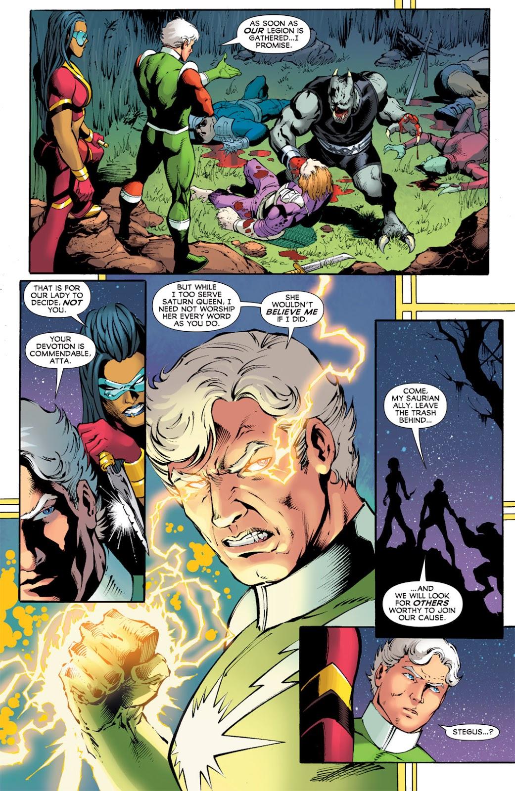 Legion of Super-Heroes (2010) Issue #12 #13 - English 3