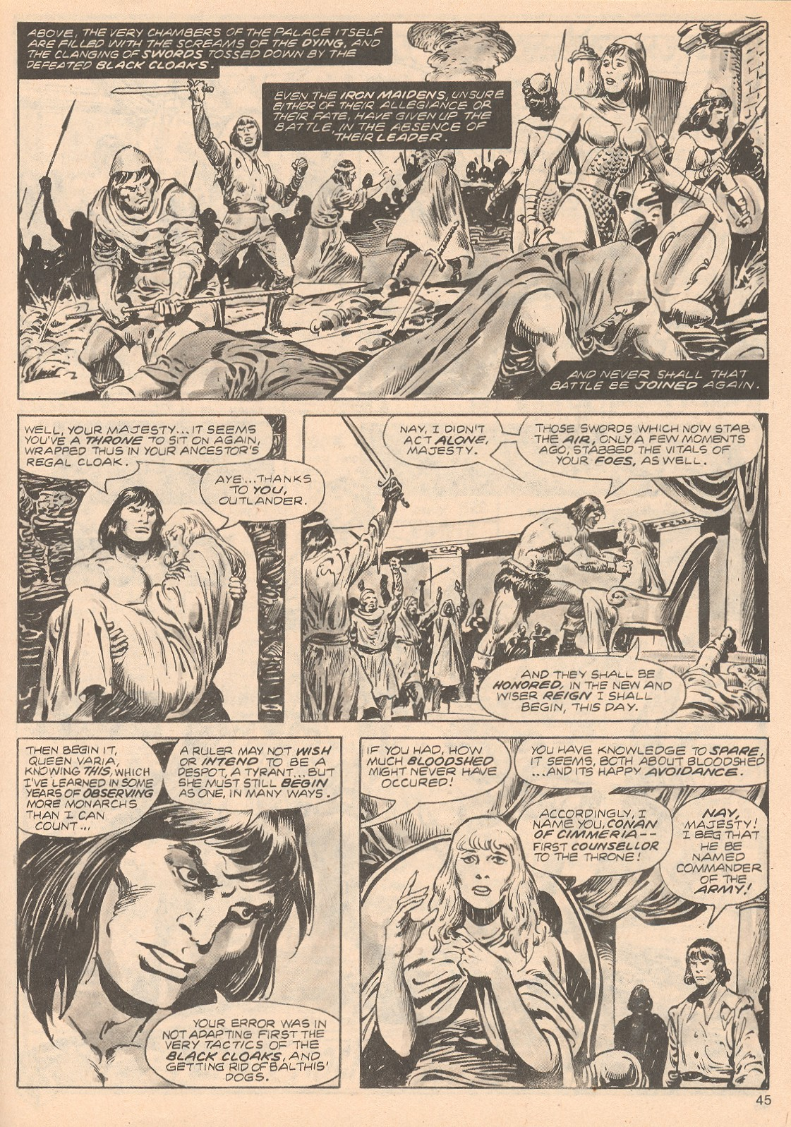 The Savage Sword Of Conan Issue #68 #69 - English 45
