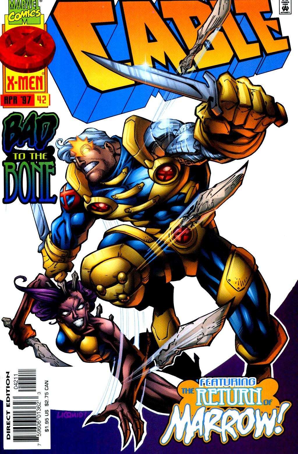 Cable (1993) 42 Page 1