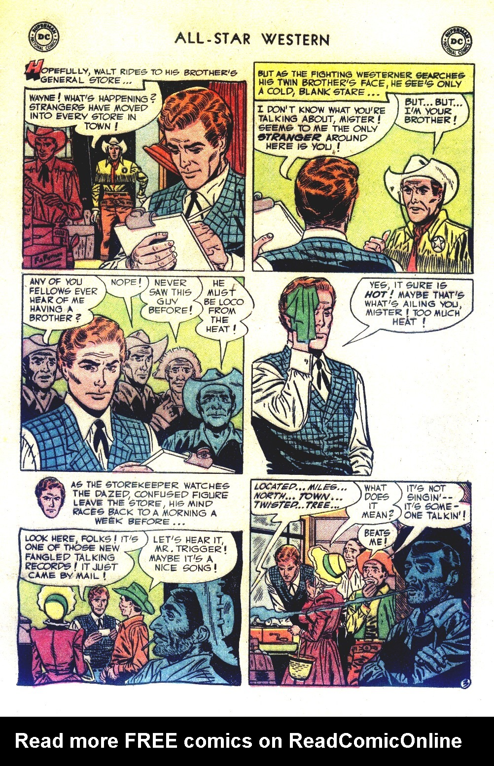 Read online All-Star Western (1951) comic -  Issue #66 - 5