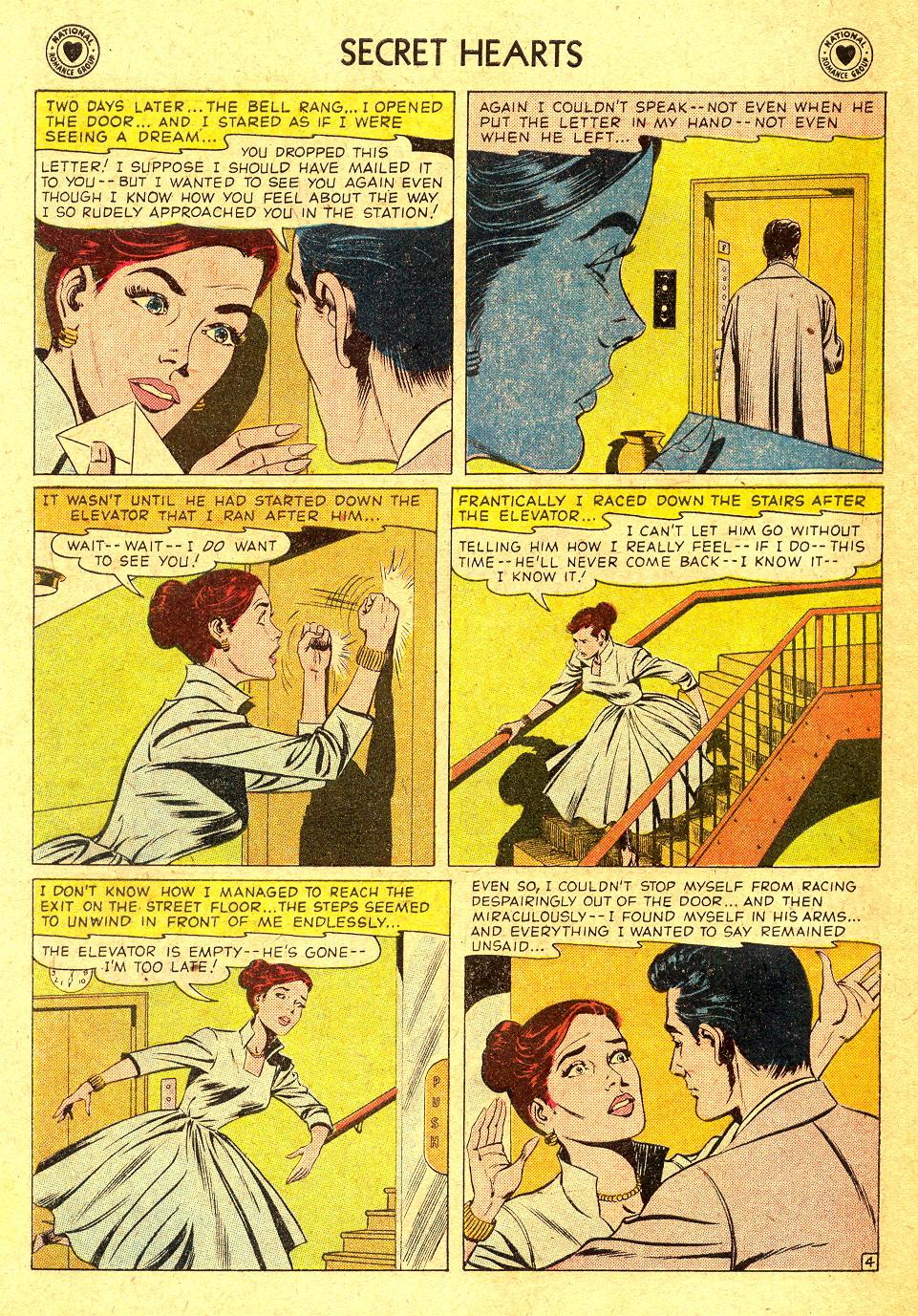 Read online Secret Hearts comic -  Issue #45 - 30