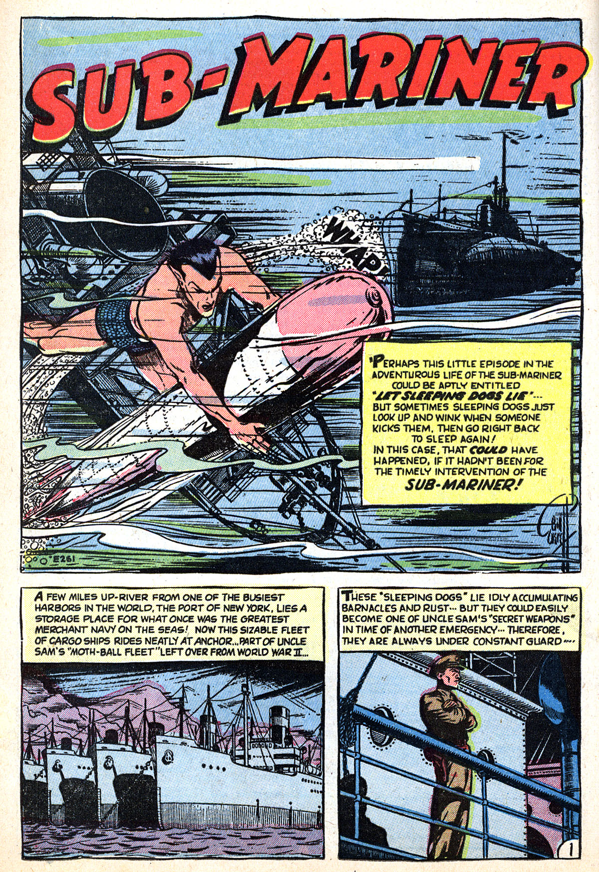 Sub-Mariner Comics #33 #33 - English 12