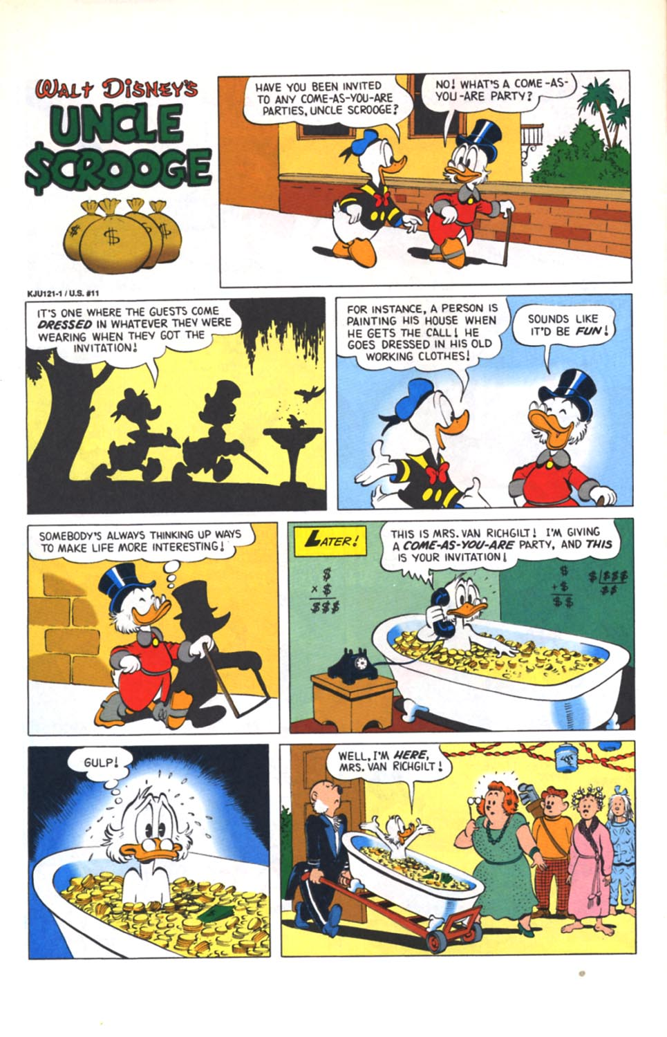 ll>Uncle Scrooge (1953)  #125 - English 25