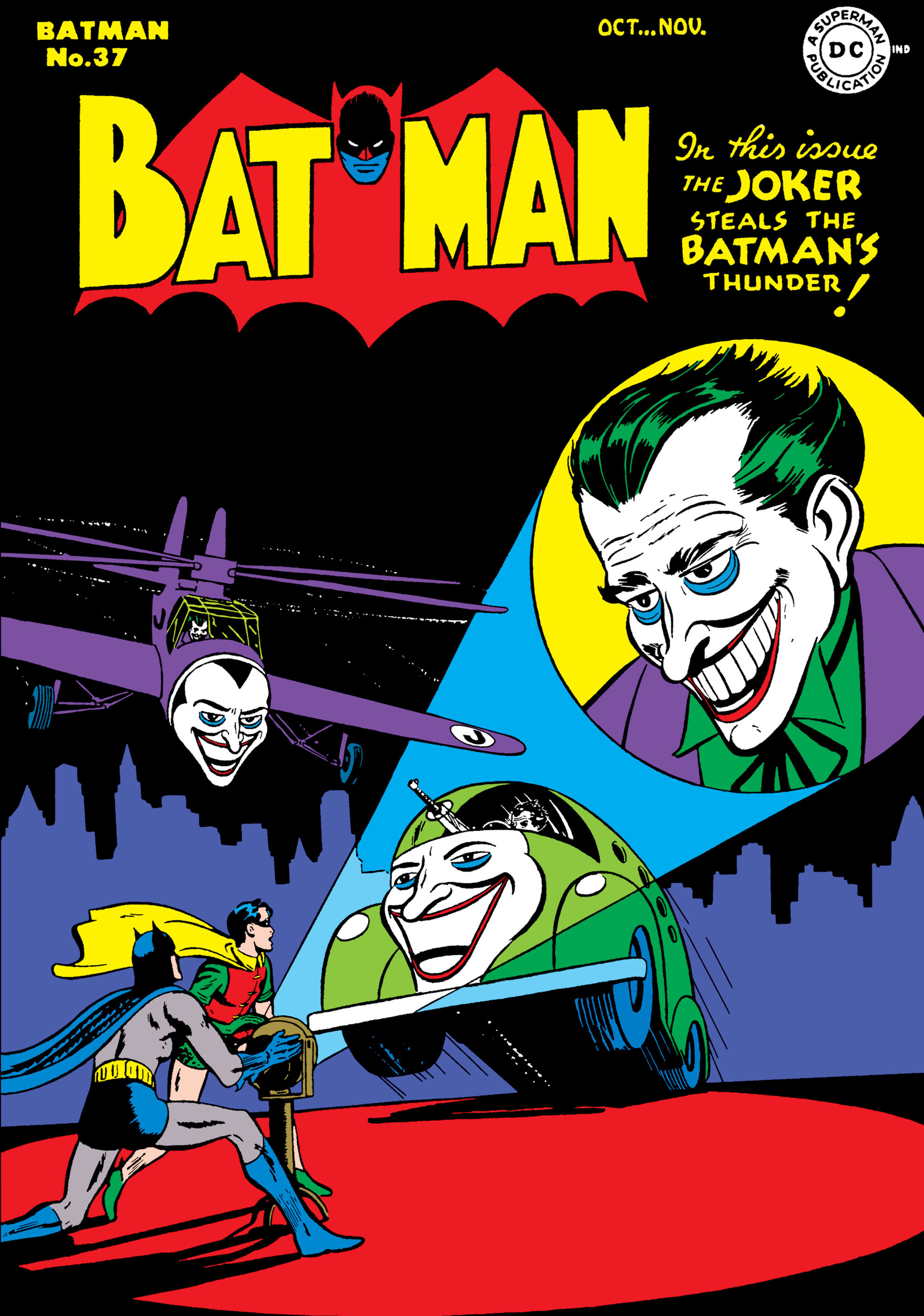 Batman (1940) 37 Page 1