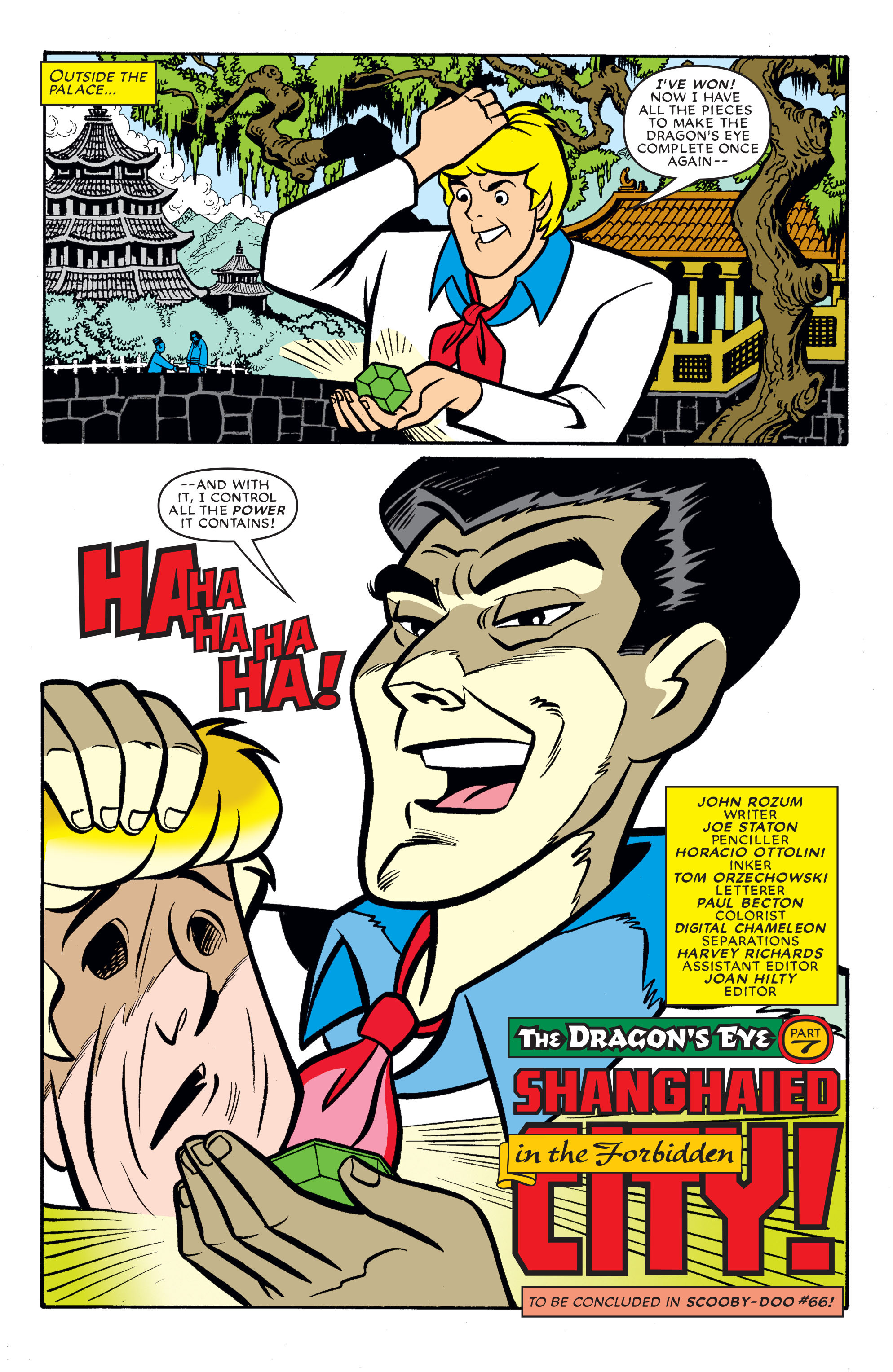 Read online Scooby-Doo (1997) comic -  Issue #65 - 23