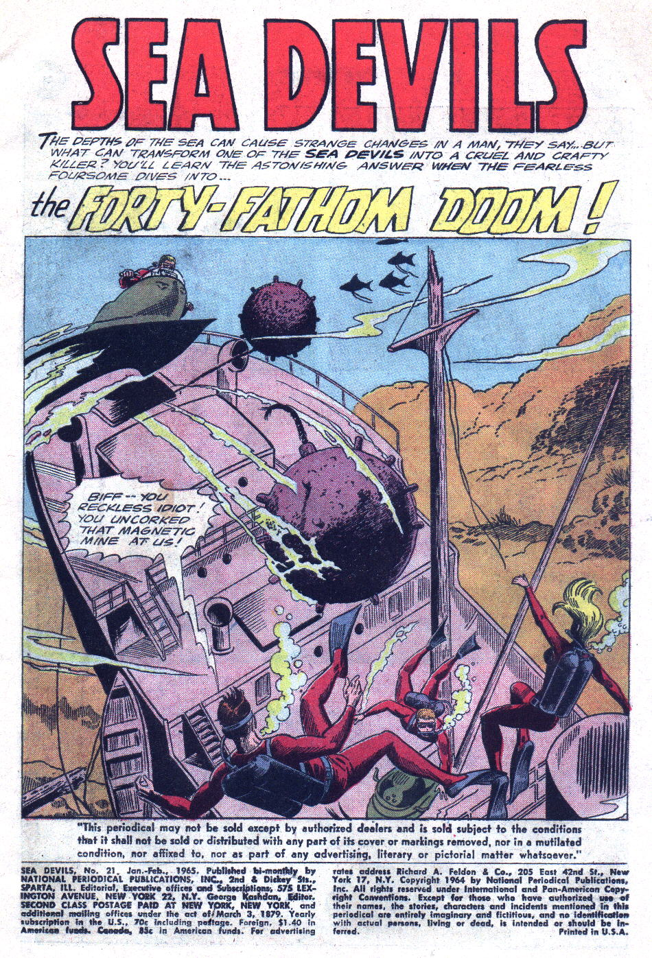 Read online Sea Devils comic -  Issue #21 - 3