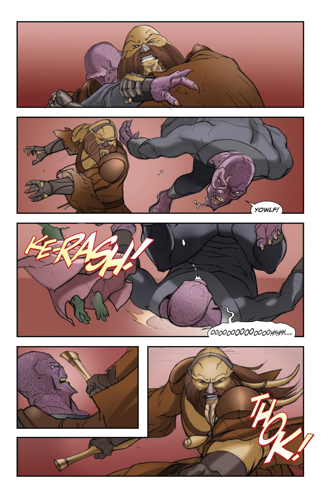 Read online Farscape: D'Argo's Quest comic -  Issue #4 - 17