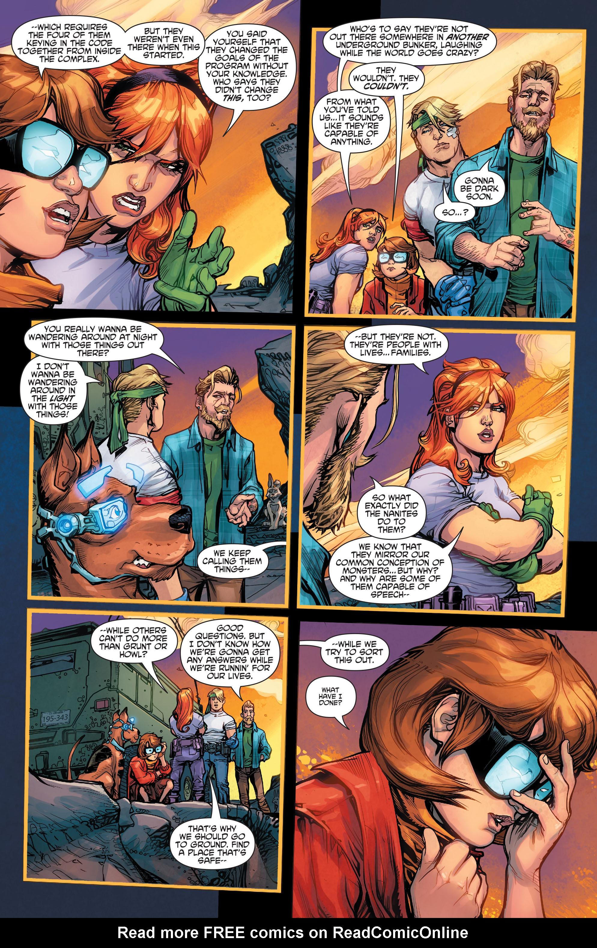 Read online Scooby Apocalypse comic -  Issue #3 - 14