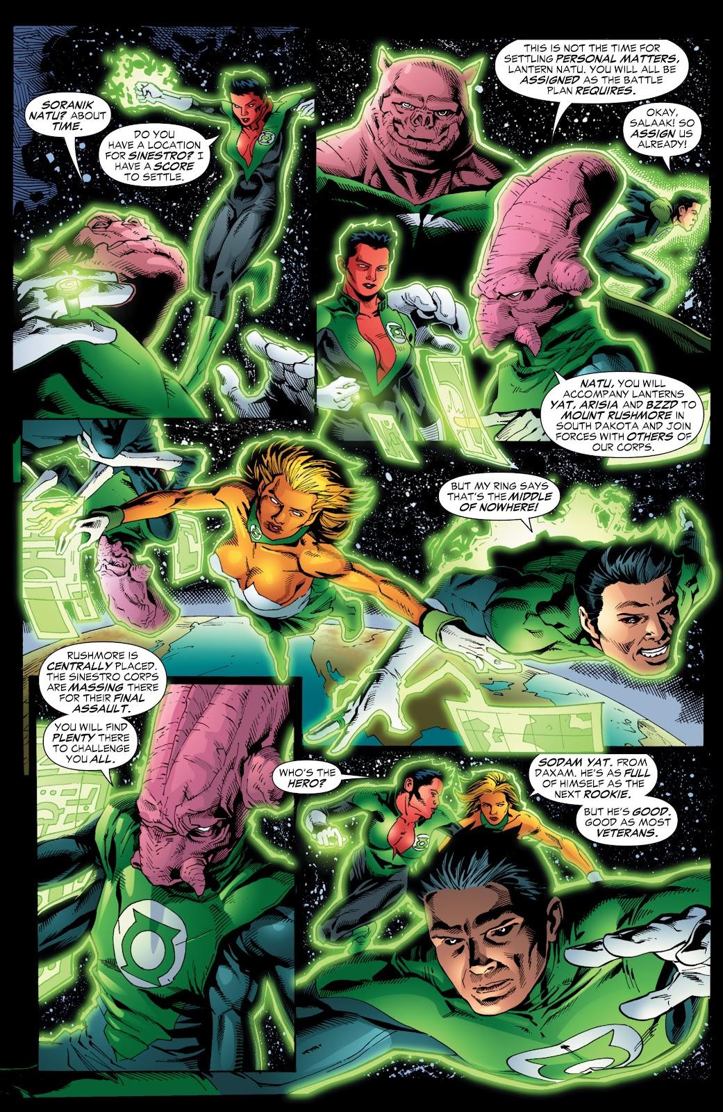 Green Lantern: The Sinestro Corps War Full #1 - English 204