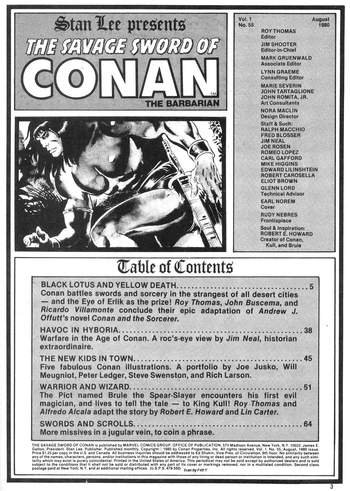 The Savage Sword Of Conan Issue #55 #56 - English 3