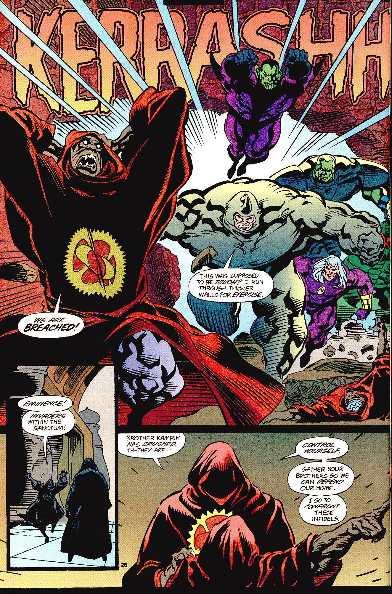 Read online Secret Defenders comic -  Issue #12 - 16