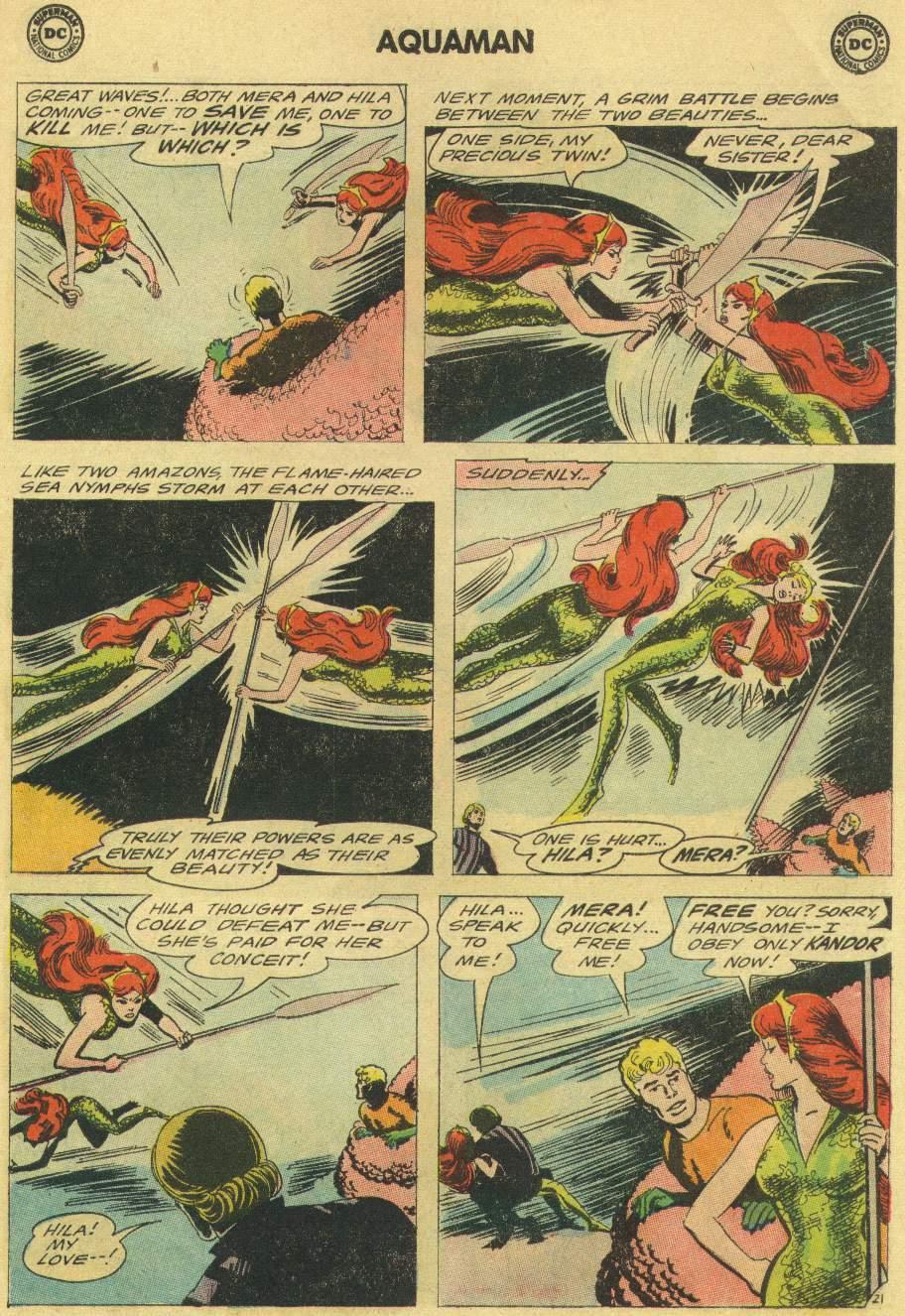 Read online Aquaman (1962) comic -  Issue #22 - 27