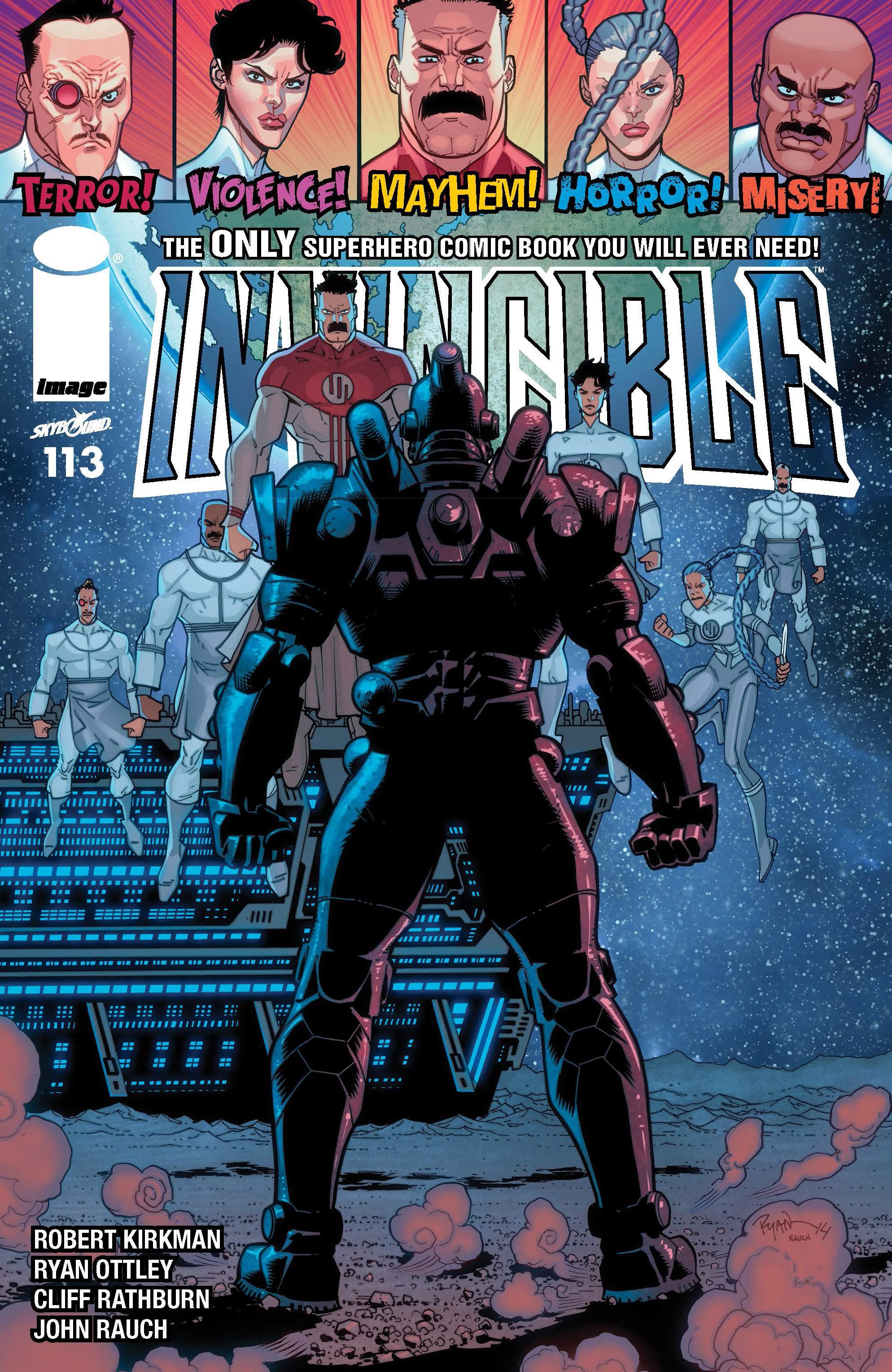 Invincible 113 Page 1