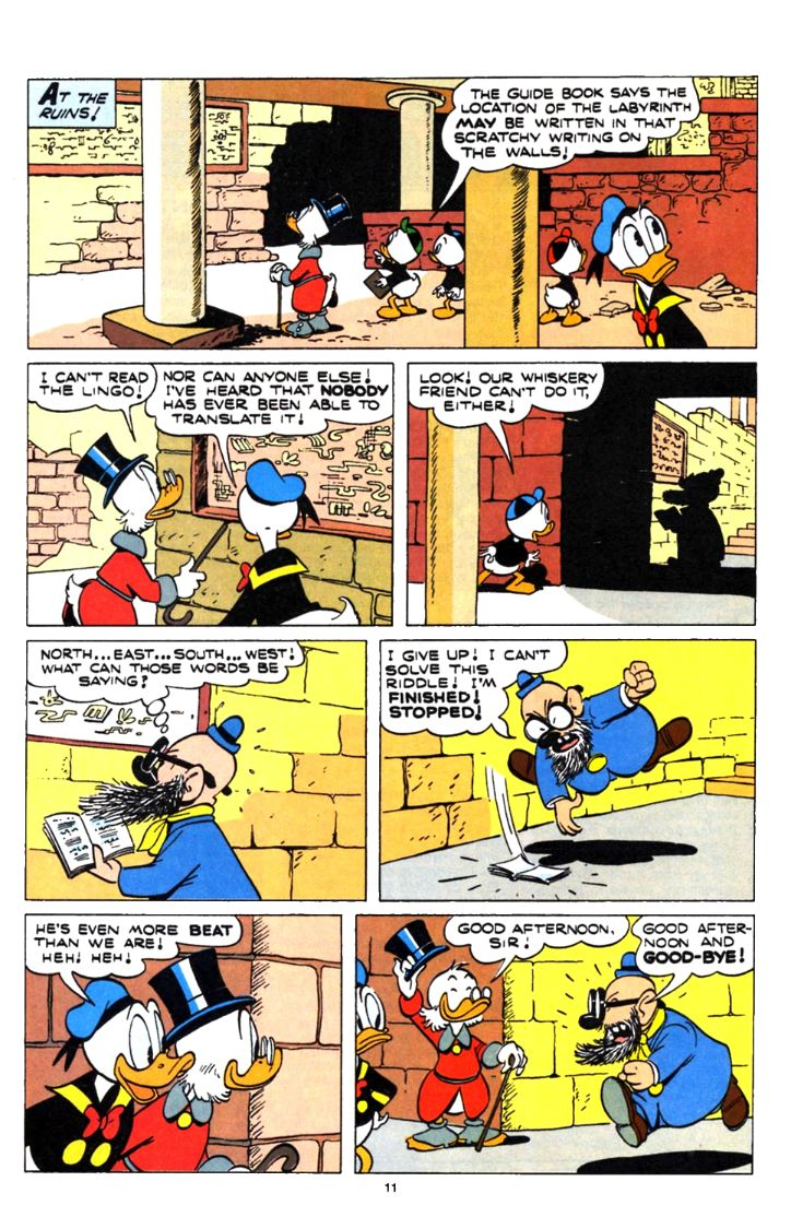 Uncle Scrooge (1953) Issue #253 #253 - English 11