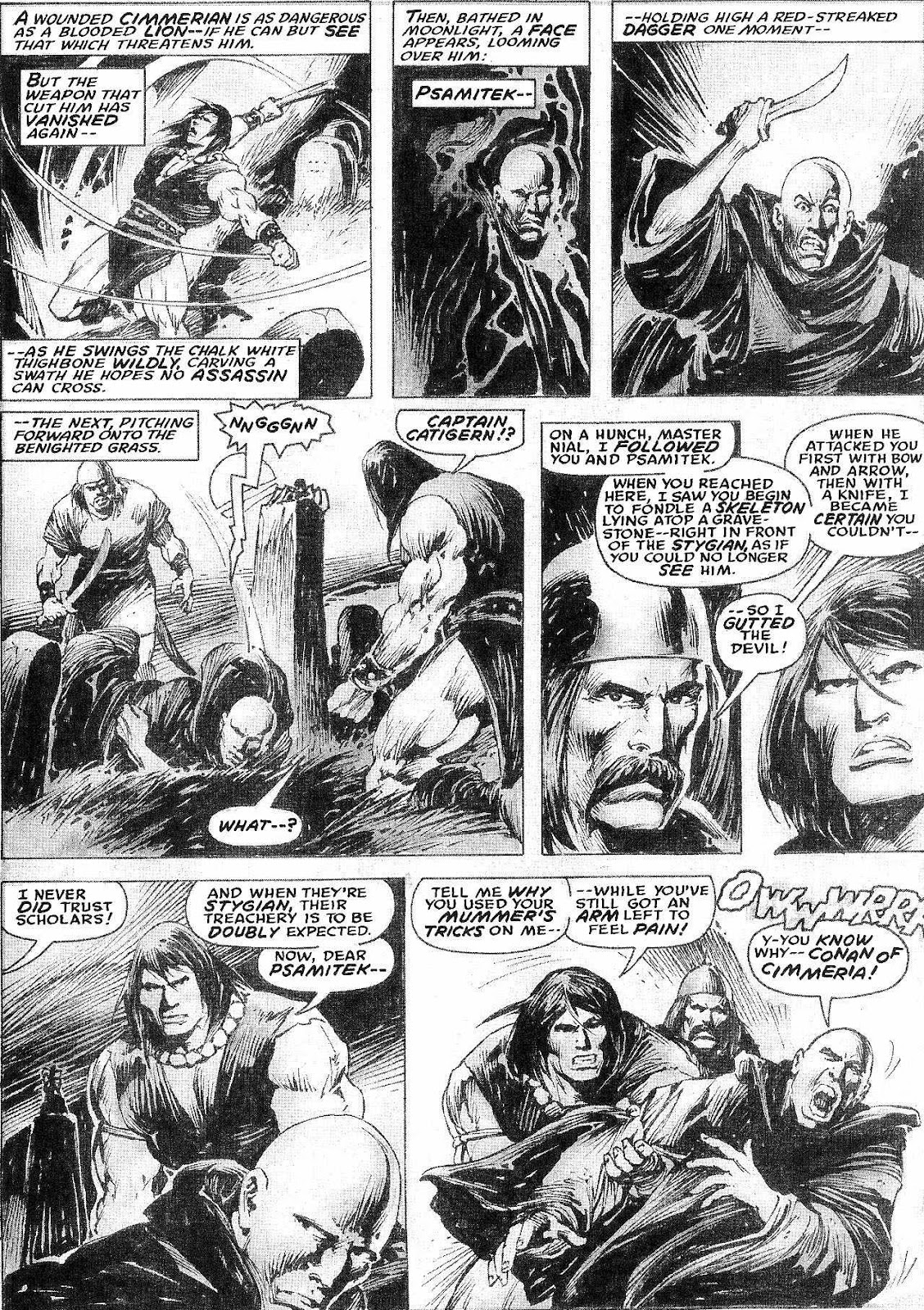 The Savage Sword Of Conan Issue #210 #211 - English 8