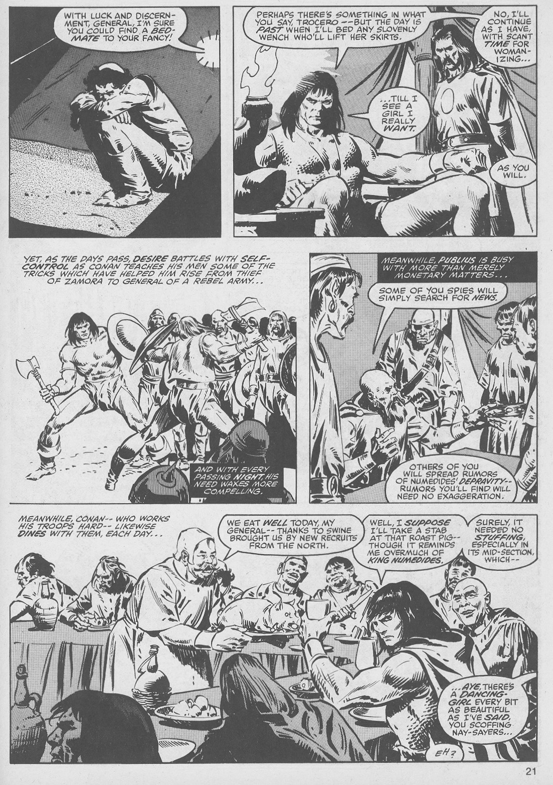 The Savage Sword Of Conan Issue #49 #50 - English 21
