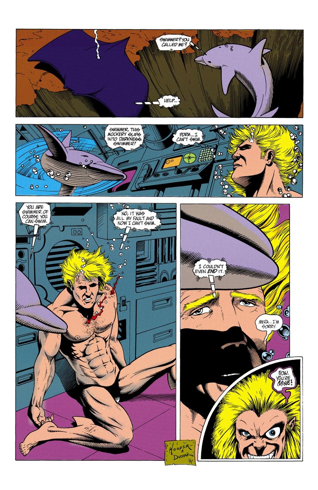 Aquaman (1991) Issue #6 #6 - English 23