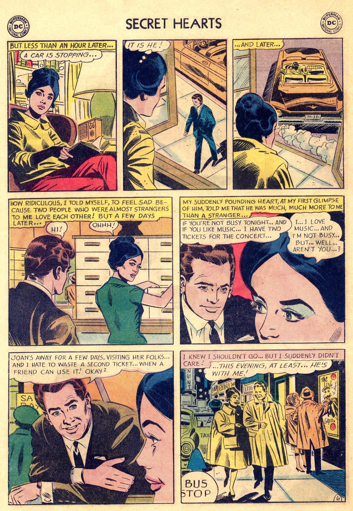 Read online Secret Hearts comic -  Issue #81 - 16