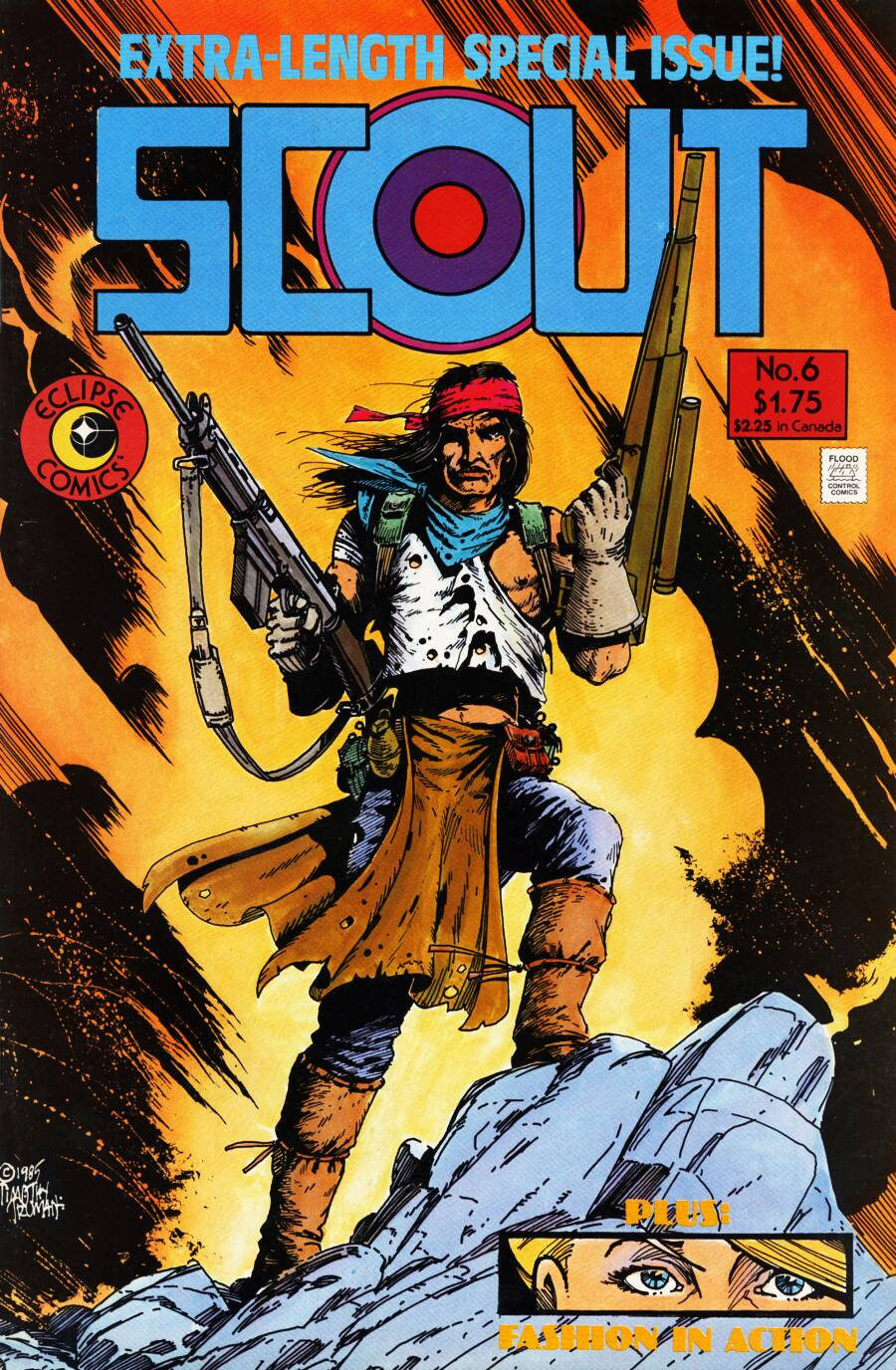 Read online Scout comic -  Issue #6 - 1