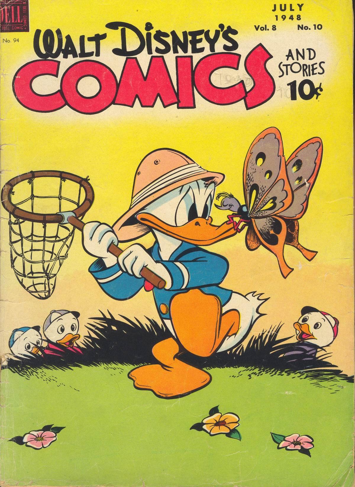 Walt Disneys Comics and Stories 94 Page 1