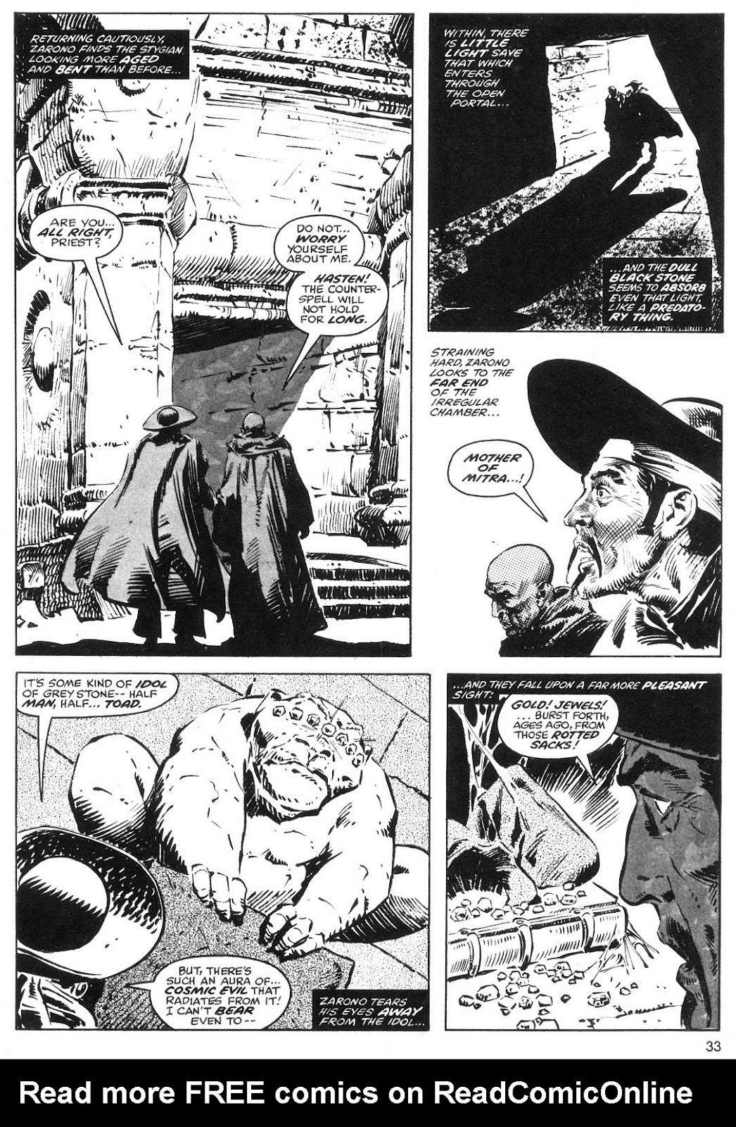 The Savage Sword Of Conan Issue #40 #41 - English 33