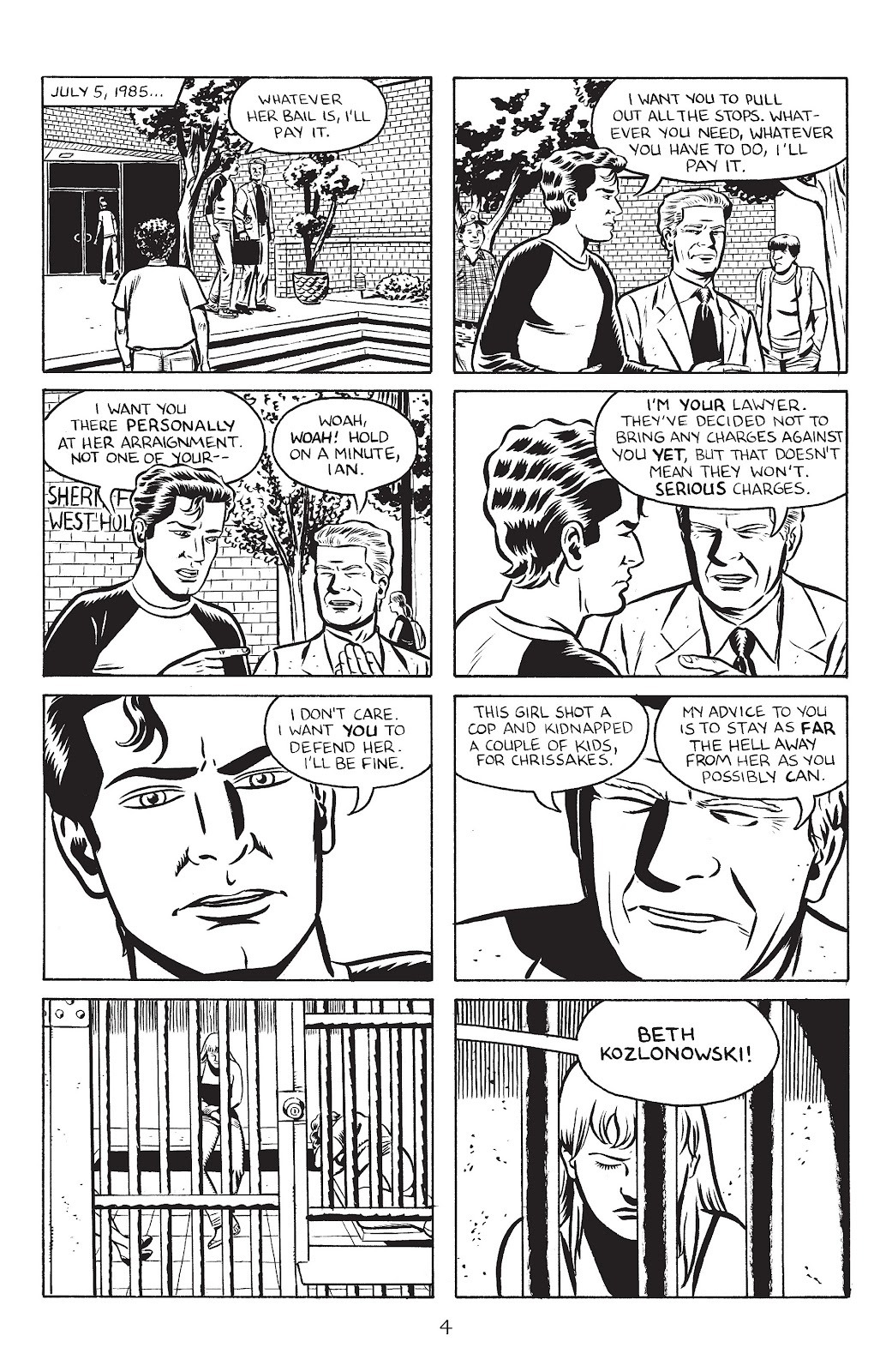 Stray Bullets Issue #28 #28 - English 6
