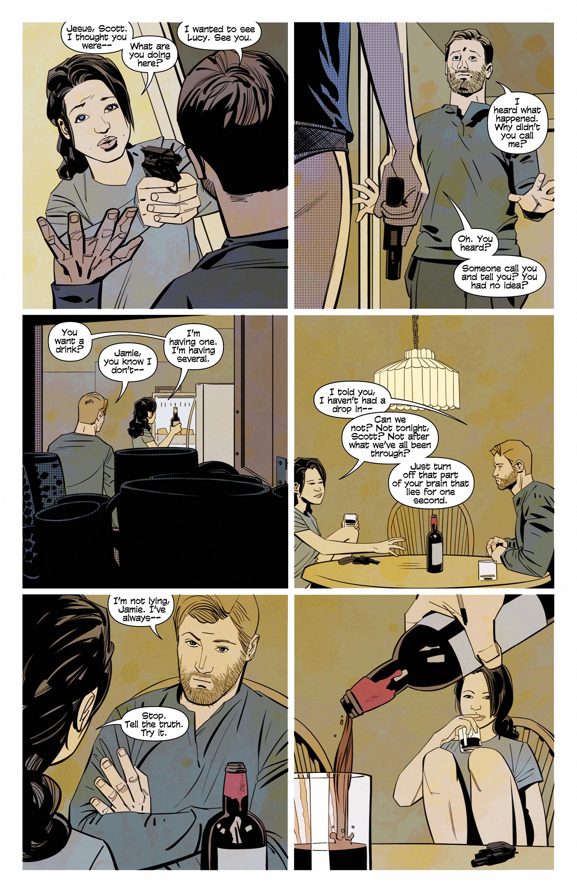 Read online Demonic comic -  Issue #6 - 21