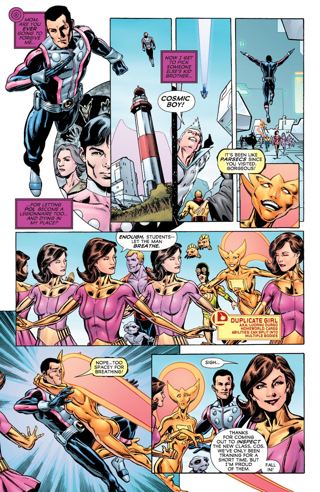 Legion of Super-Heroes (2010) Issue #6 #7 - English 18