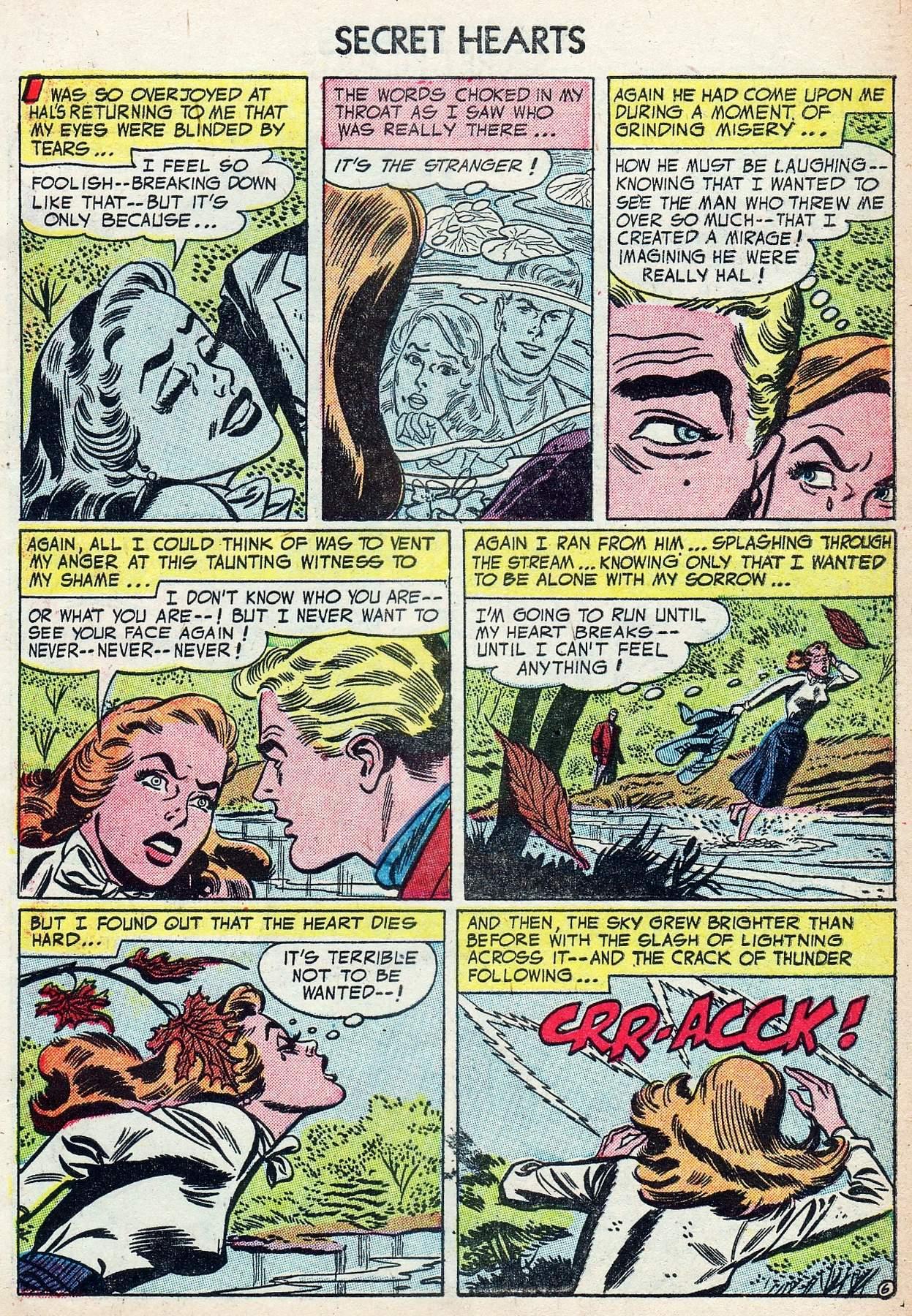 Read online Secret Hearts comic -  Issue #25 - 31