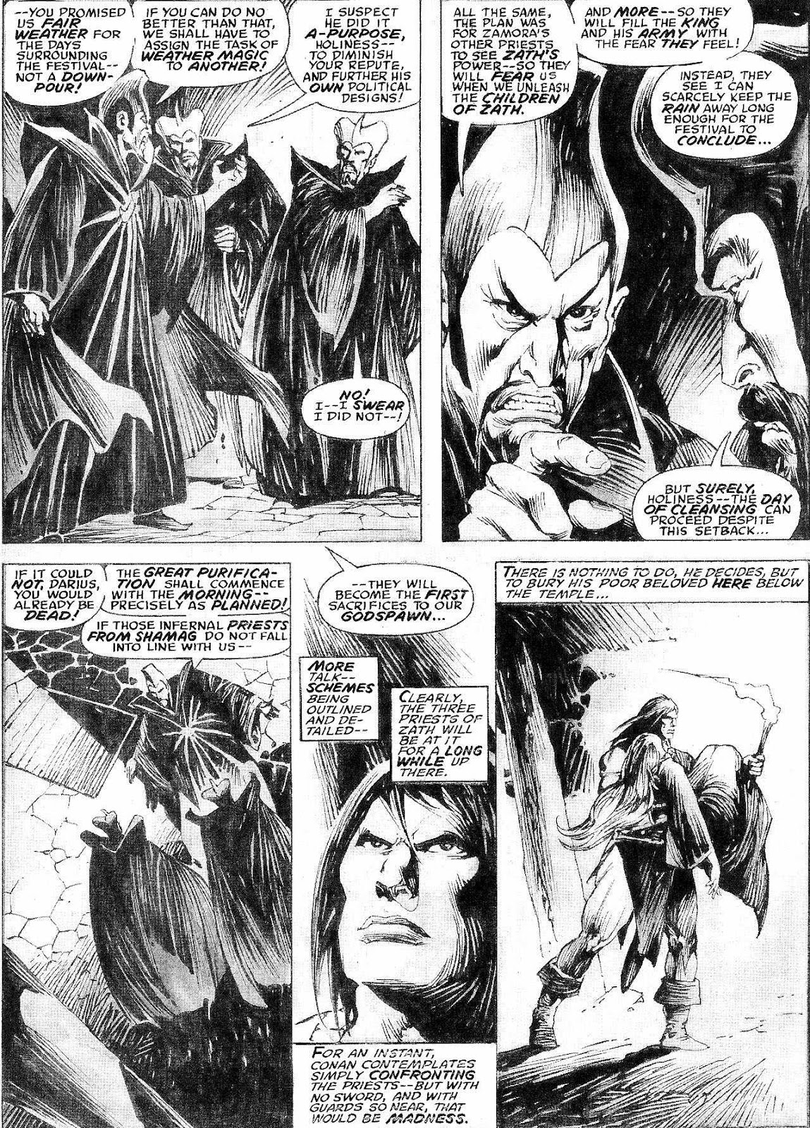 The Savage Sword Of Conan Issue #210 #211 - English 27