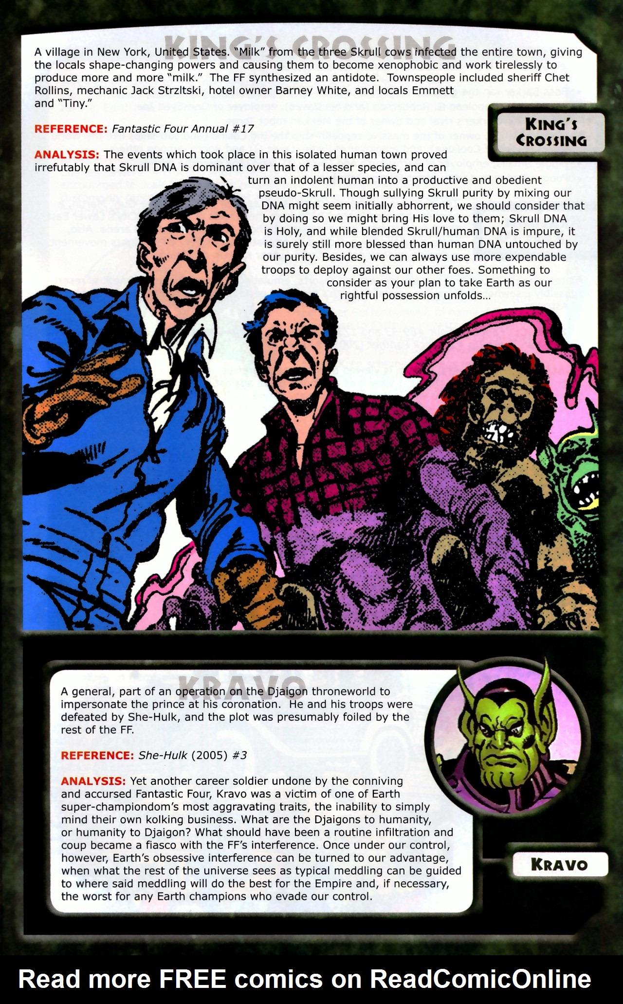 Read online Skrulls! comic -  Issue # Full - 25