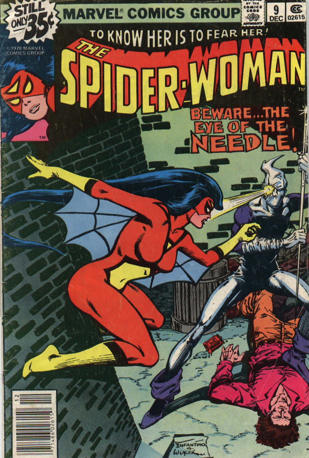 Spider-Woman (1978) Issue #9 #9 - English 1