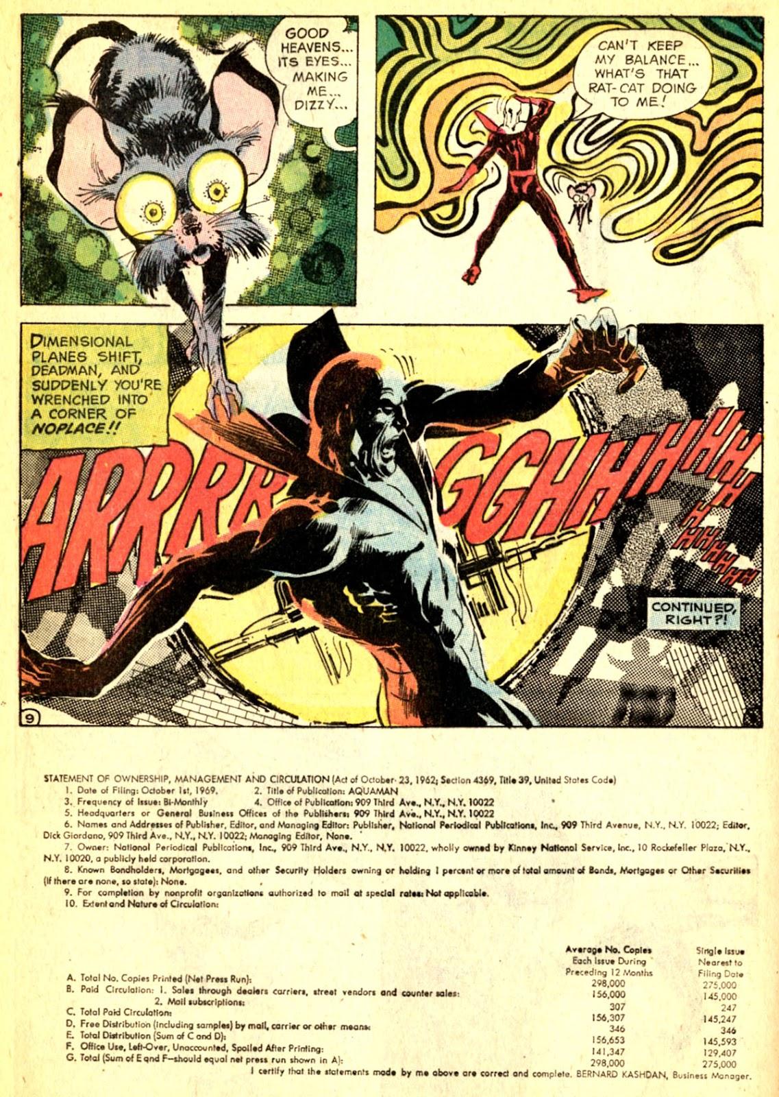 Aquaman (1962) Issue #50 #50 - English 32
