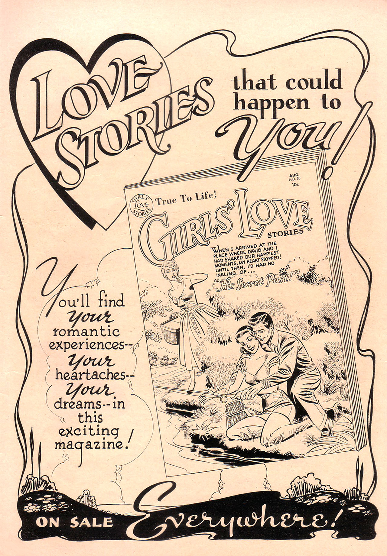 Read online Secret Hearts comic -  Issue #23 - 35