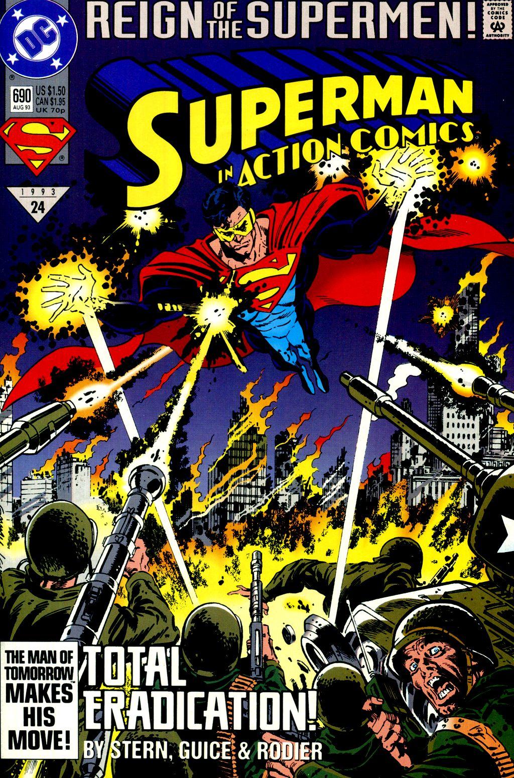 Action Comics (1938) 690 Page 1