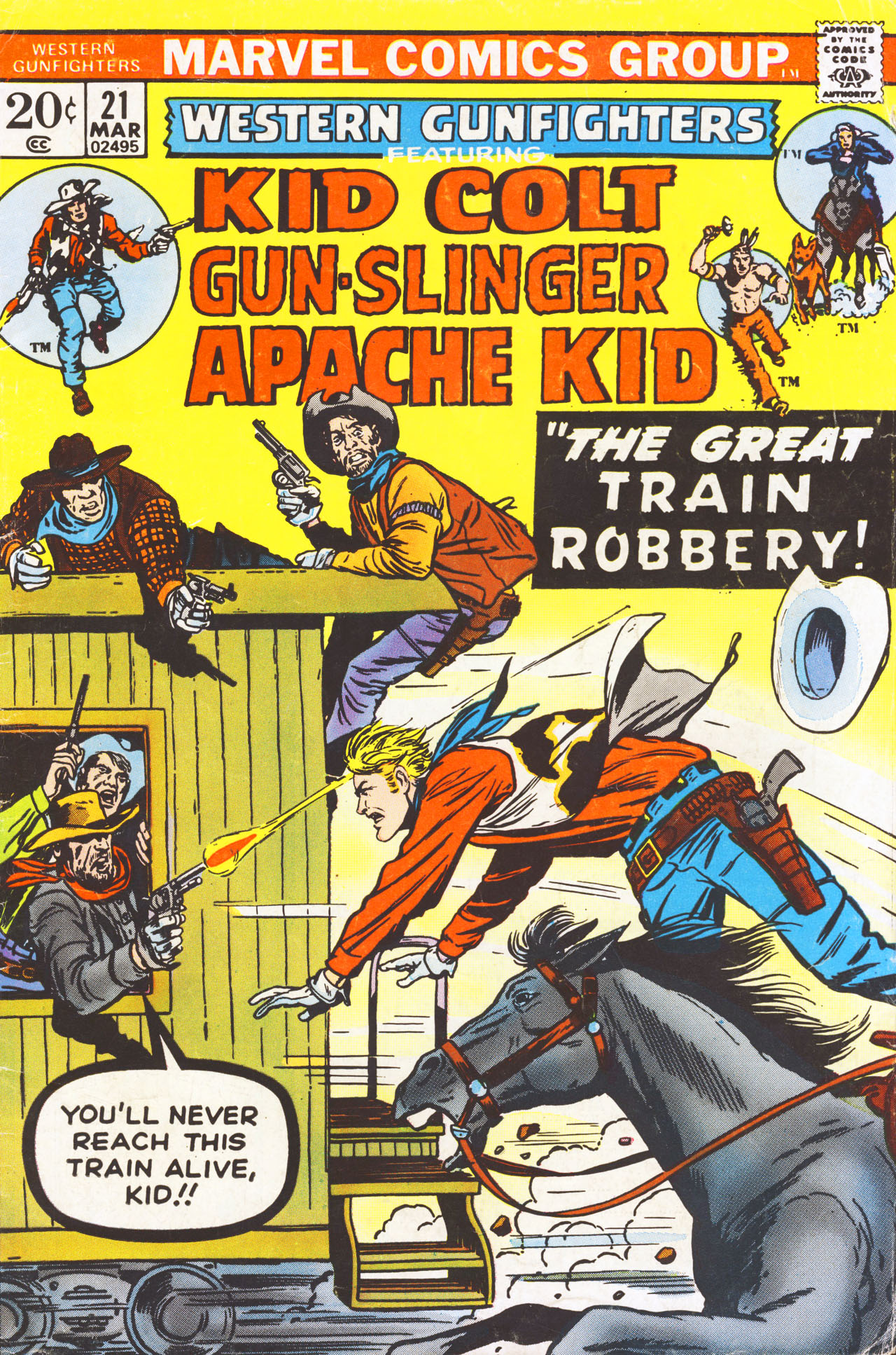 Western Gunfighters 21 Page 1