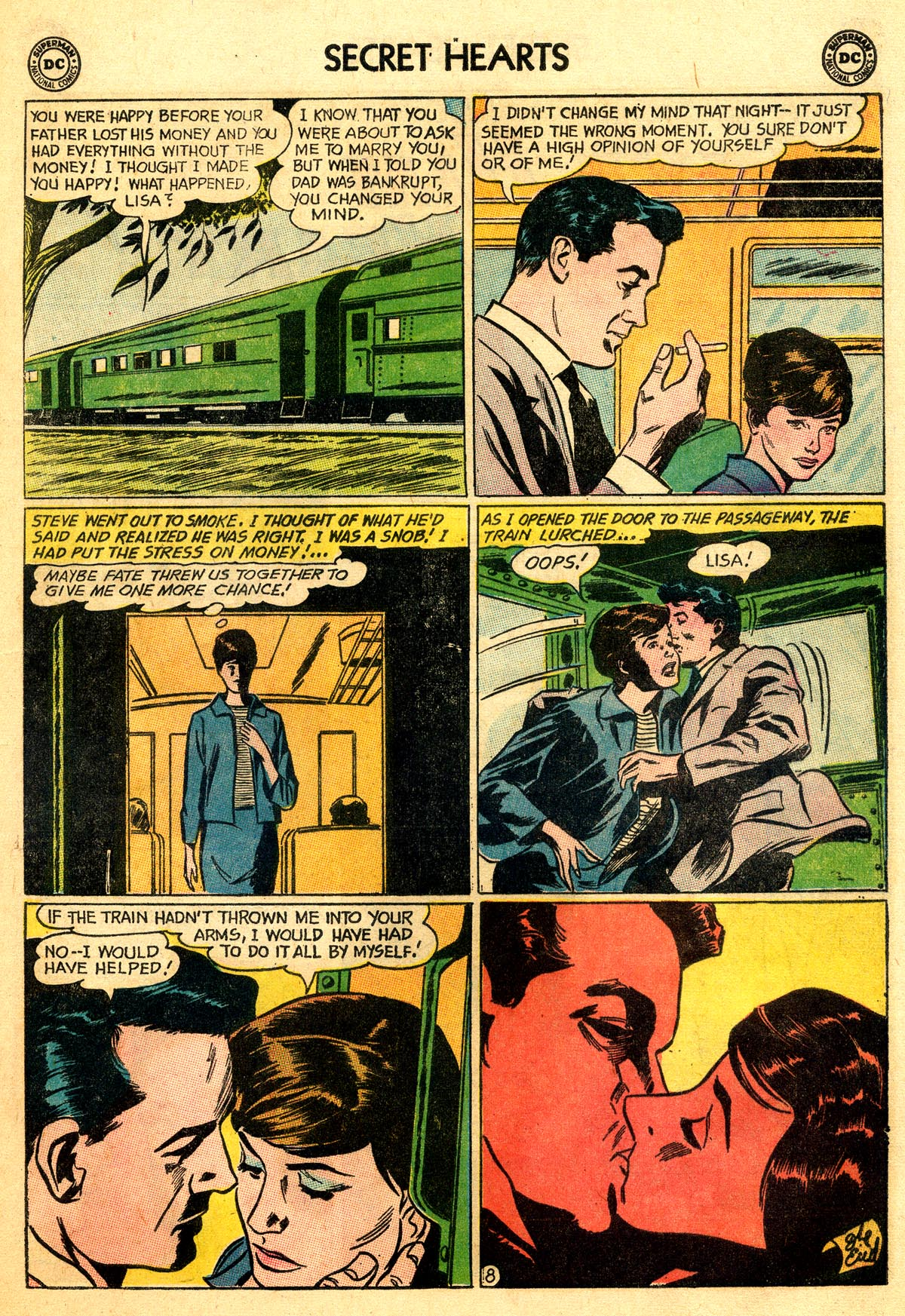 Read online Secret Hearts comic -  Issue #92 - 17