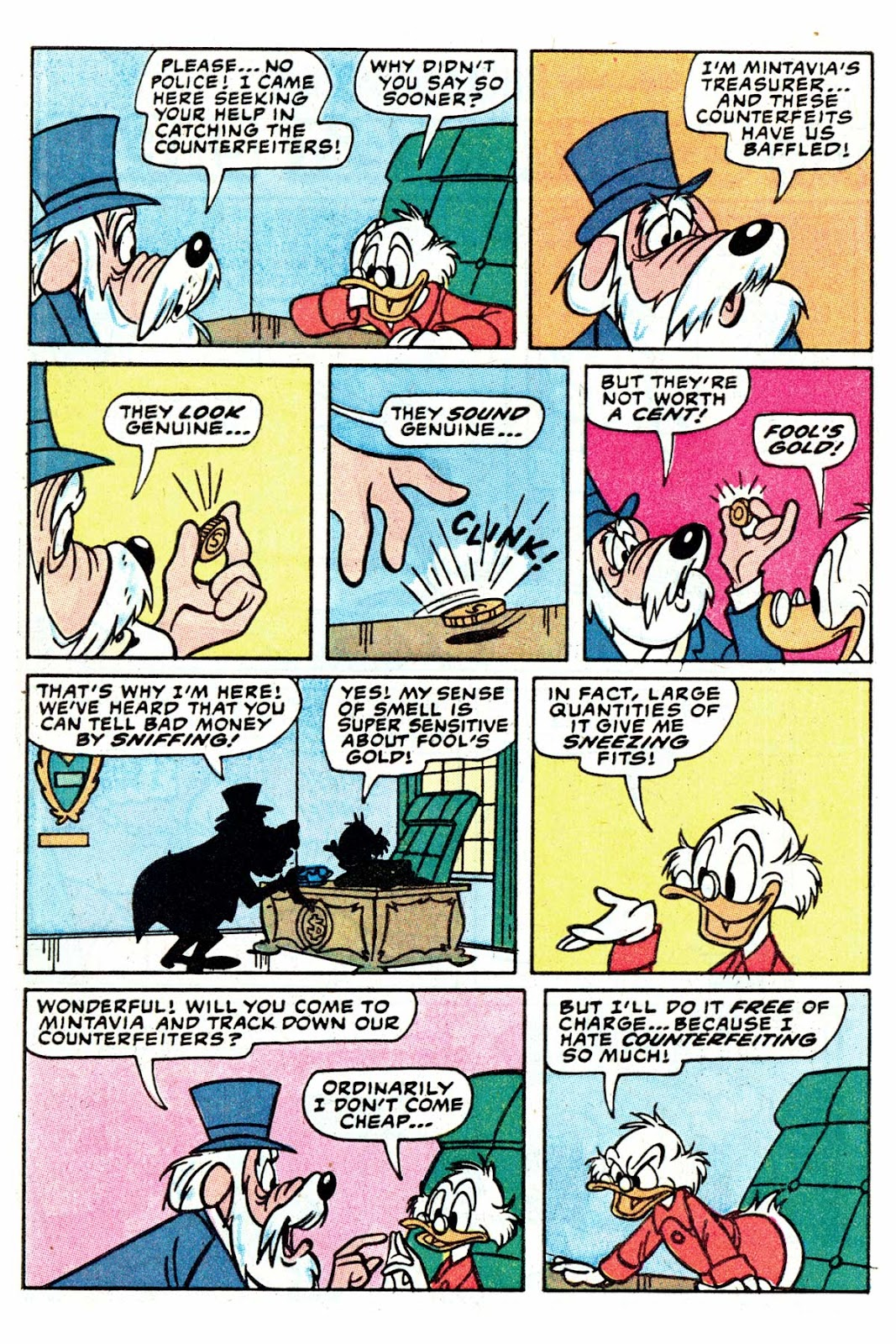 Uncle Scrooge (1953) Issue #202 #202 - English 28