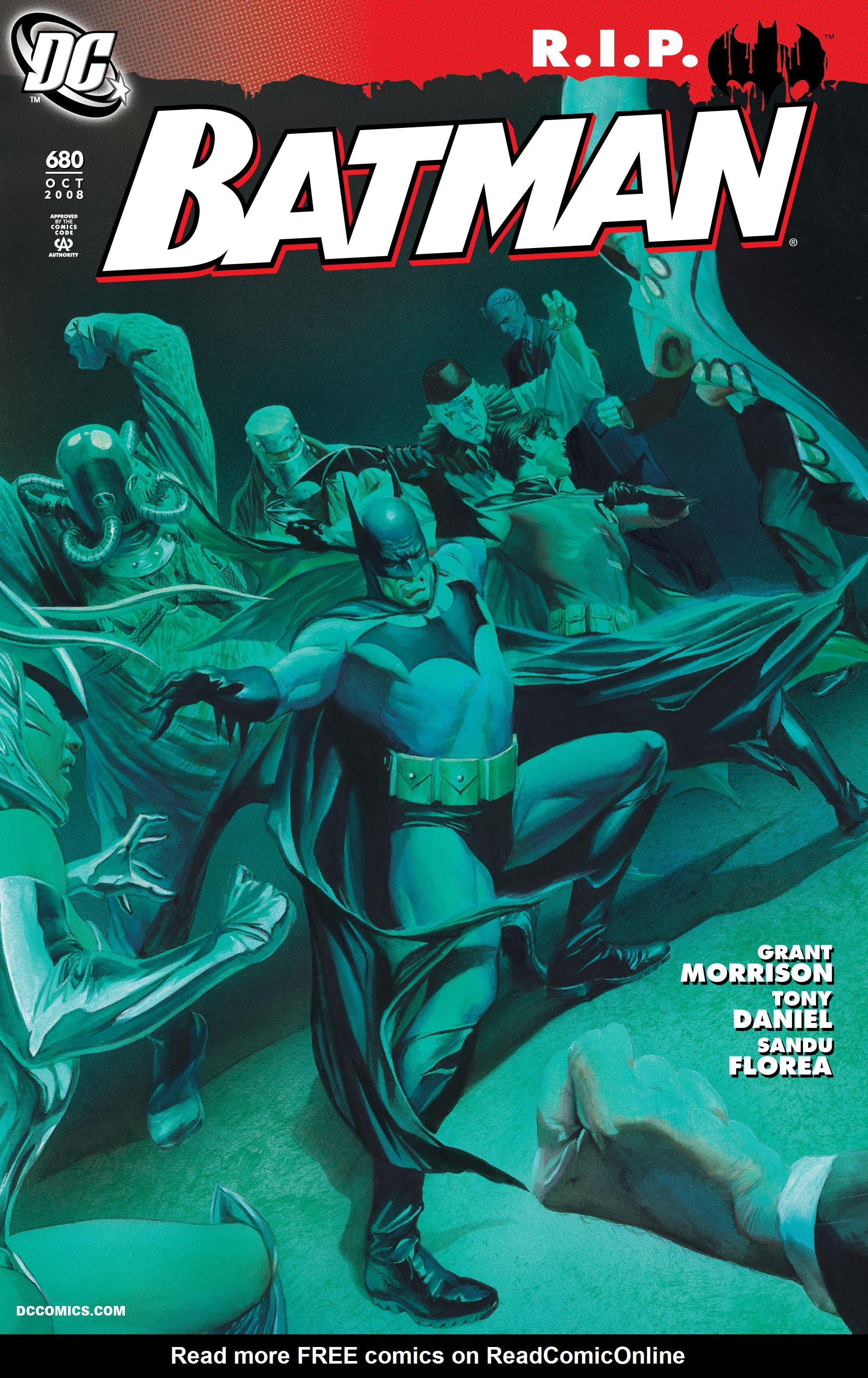 Batman (1940) 680 Page 1
