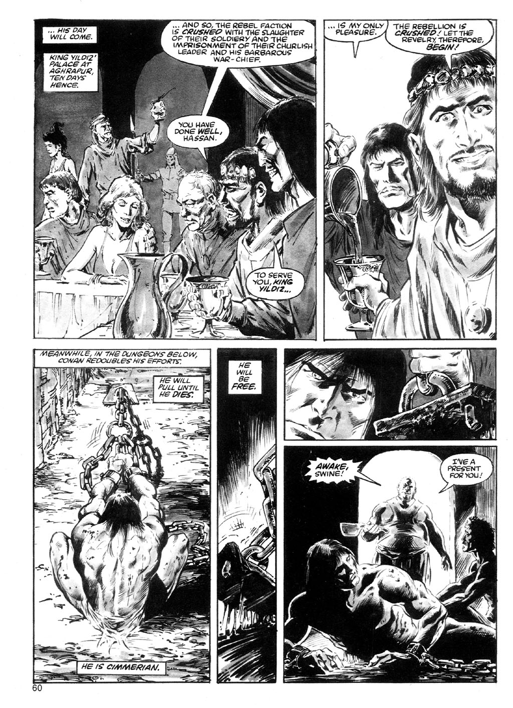 The Savage Sword Of Conan Issue #91 #92 - English 56