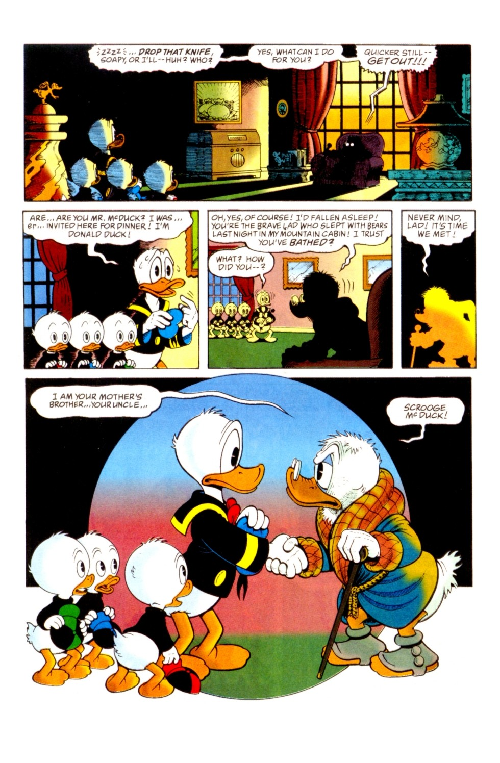 Uncle Scrooge (1953) Issue #296 #296 - English 6