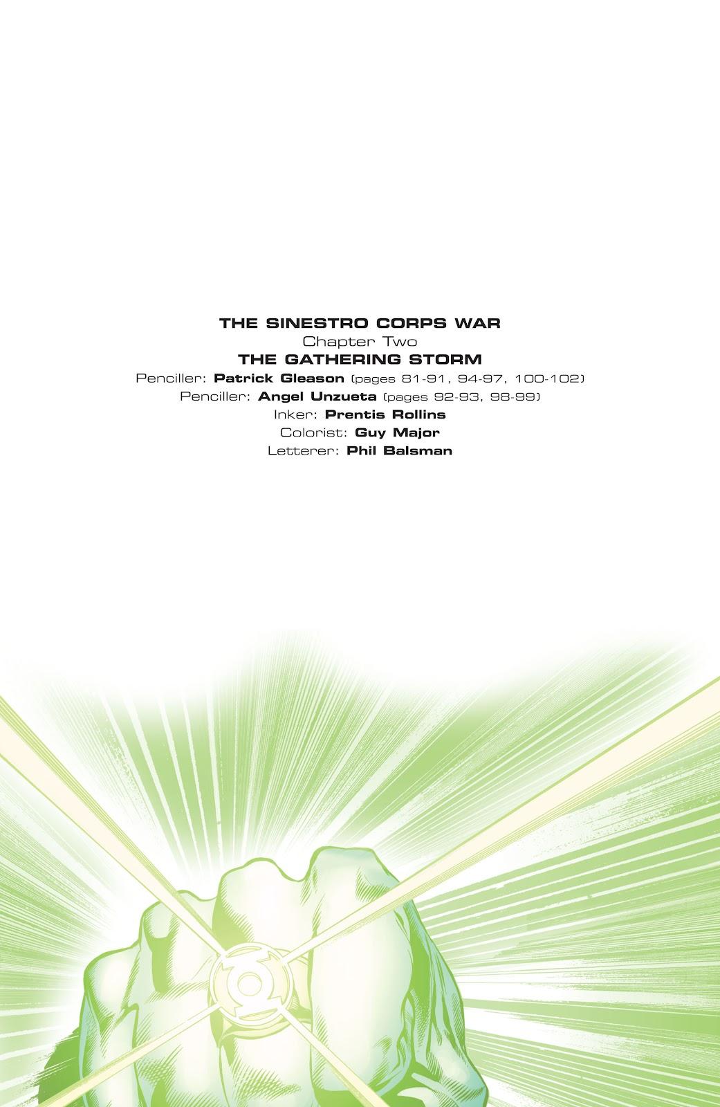 Green Lantern: The Sinestro Corps War Full #1 - English 69
