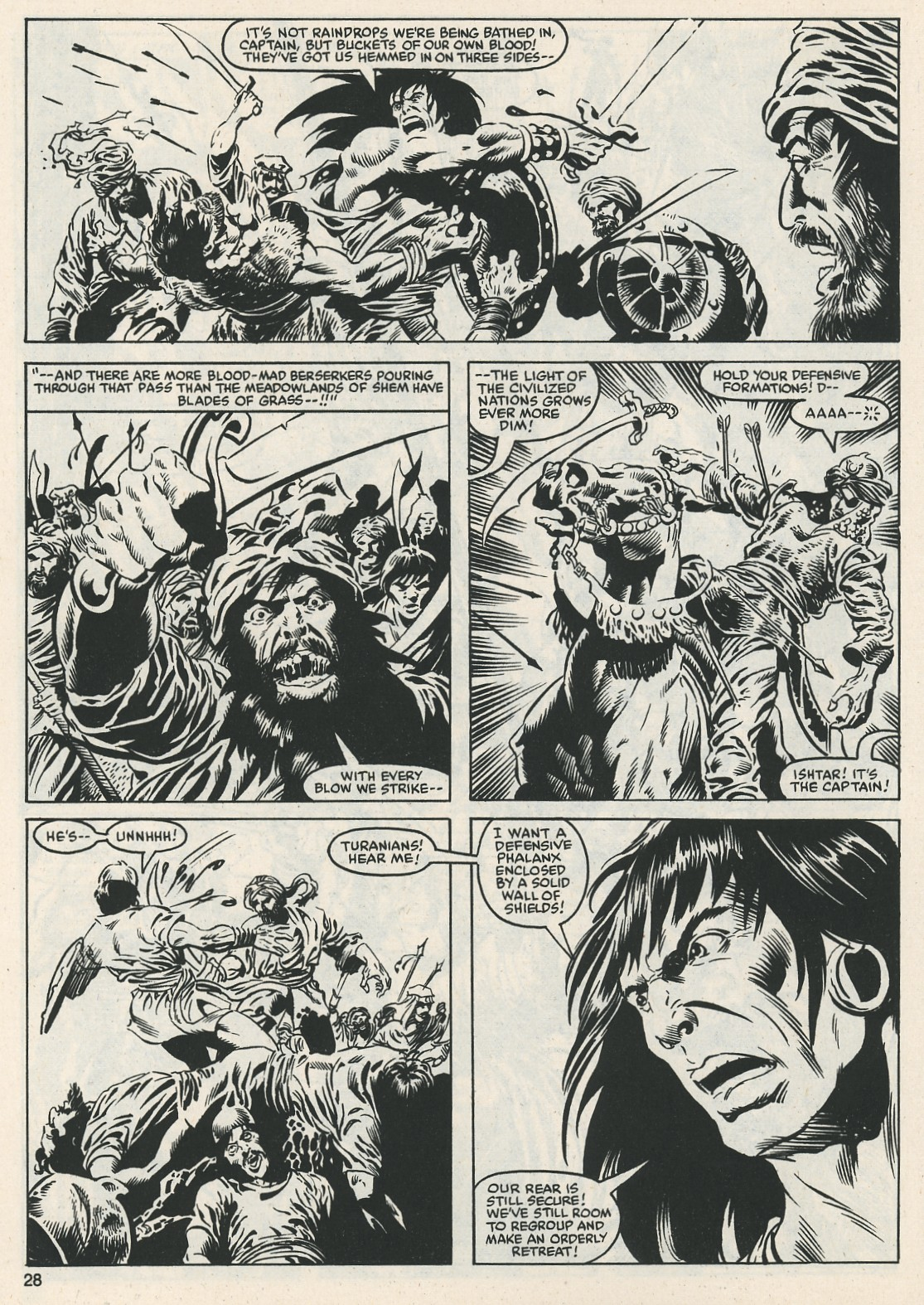 The Savage Sword Of Conan Issue #112 #113 - English 29