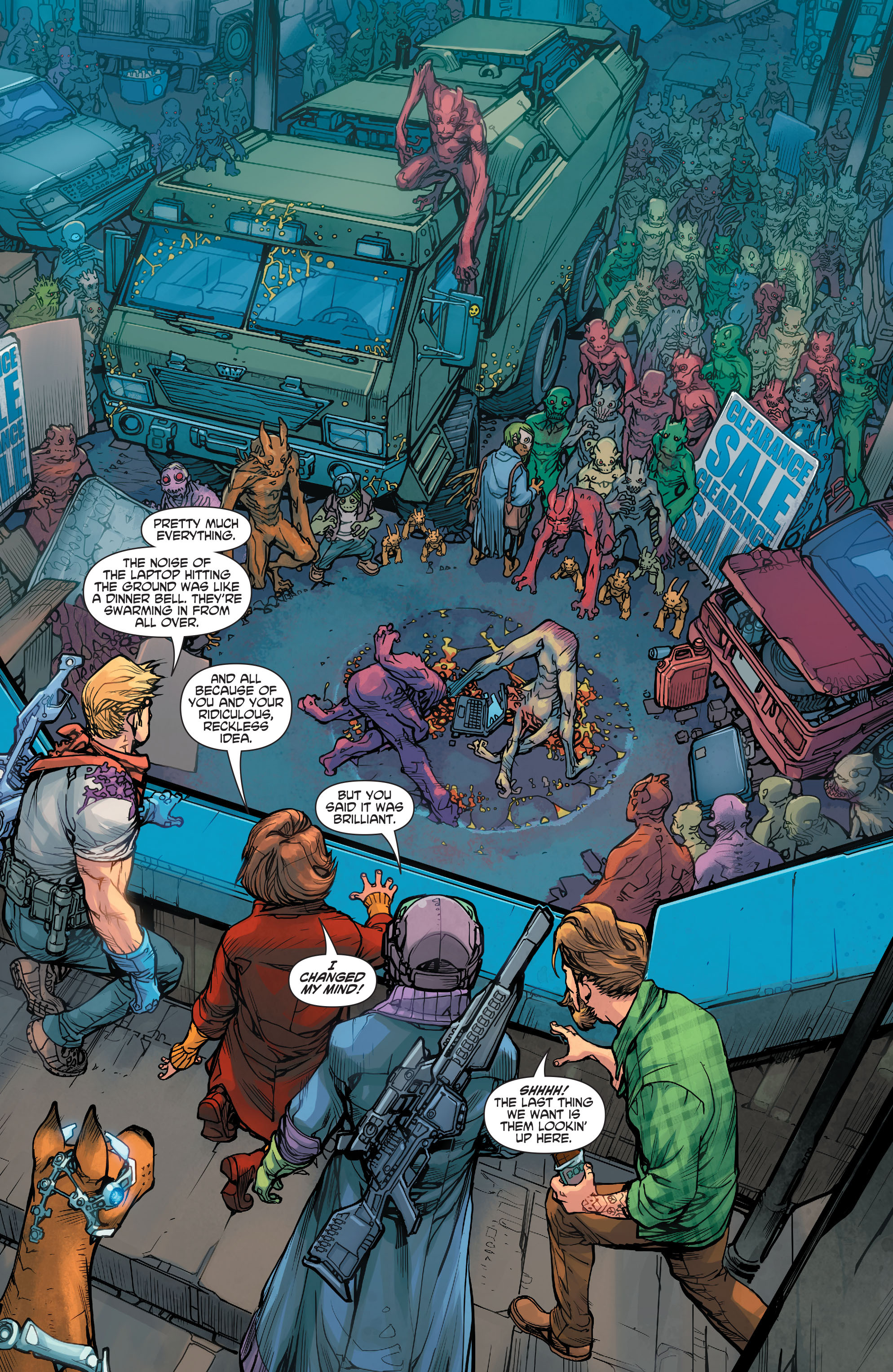 Read online Scooby Apocalypse comic -  Issue #7 - 9