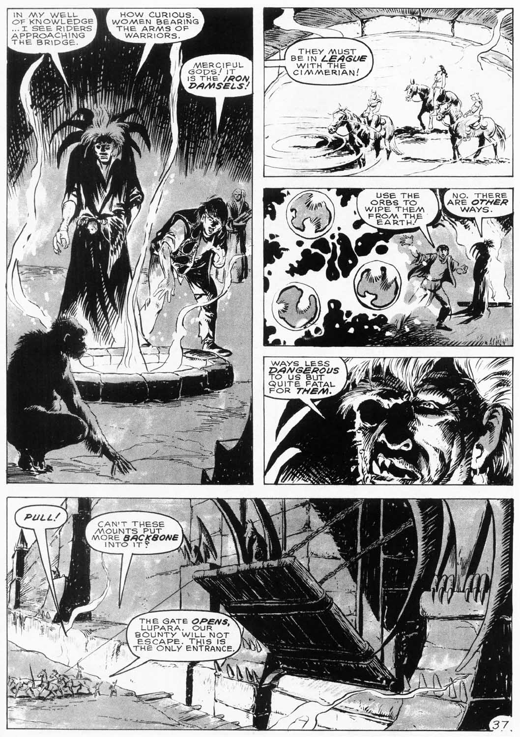 The Savage Sword Of Conan Issue #154 #155 - English 38