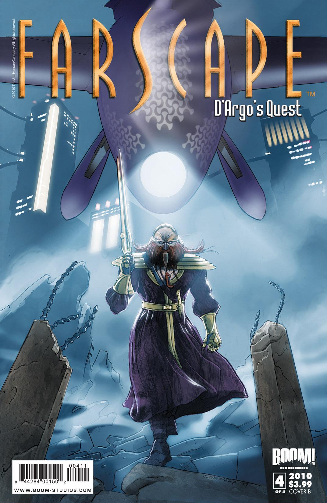 Read online Farscape: D'Argo's Quest comic -  Issue #4 - 2