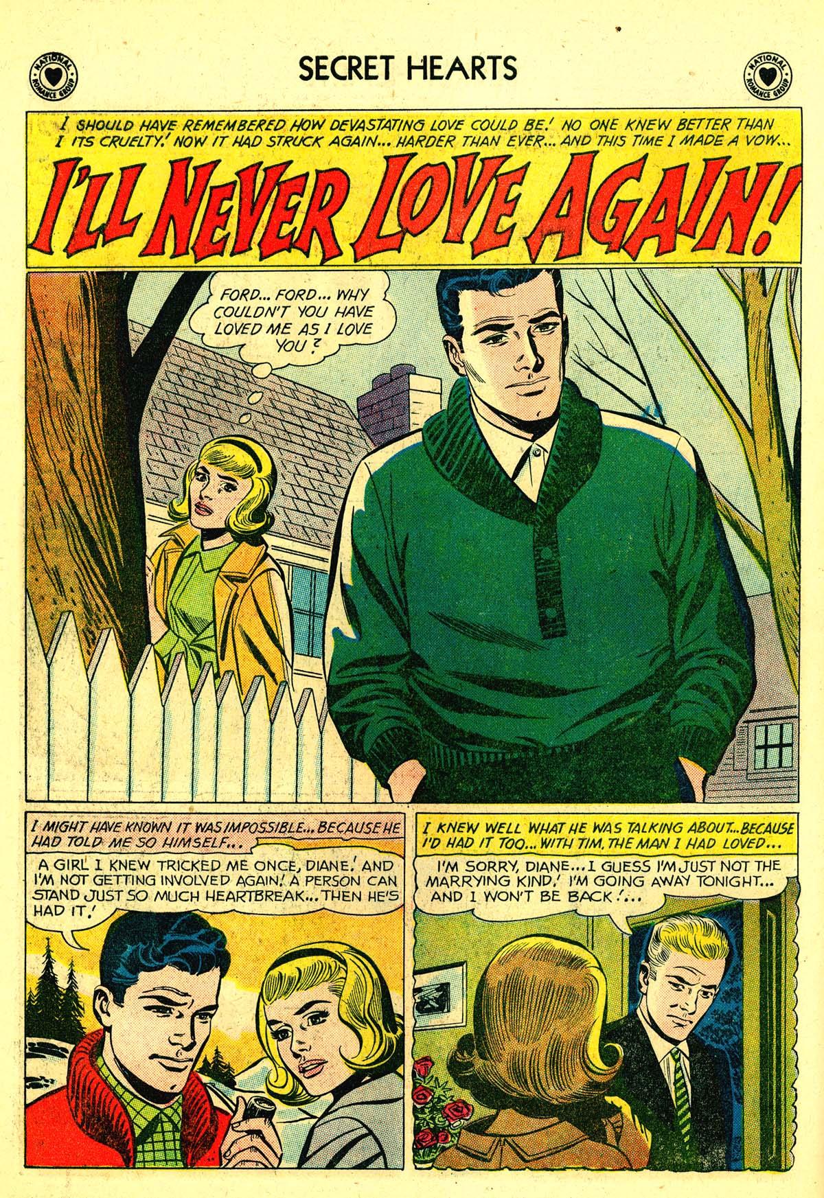 Read online Secret Hearts comic -  Issue #64 - 18