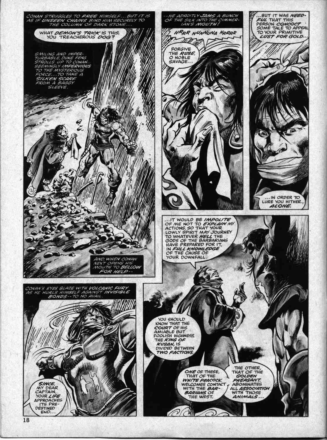 The Savage Sword Of Conan Issue #33 #34 - English 17