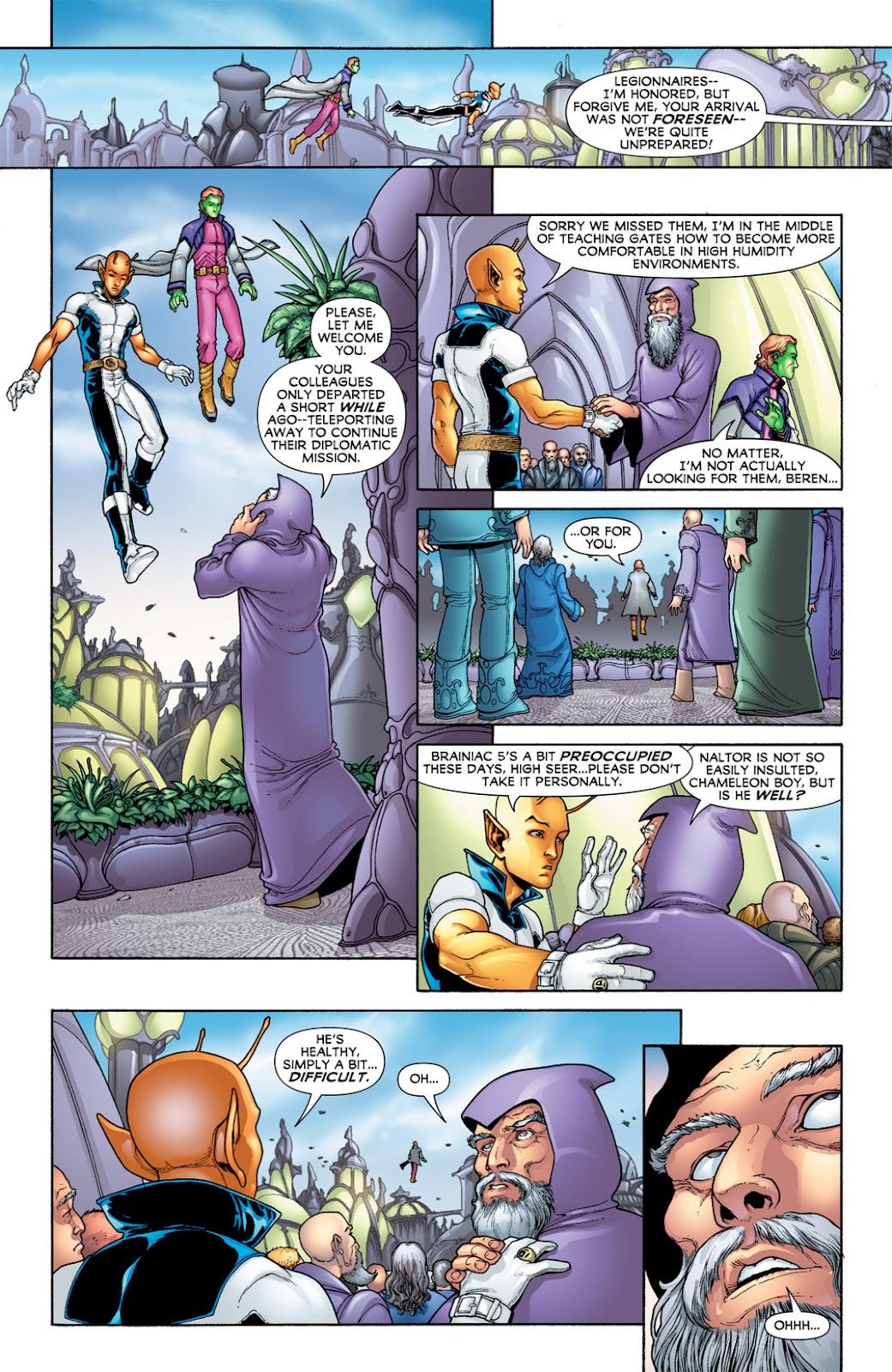 Legion of Super-Heroes (2010) Issue #7 #8 - English 27